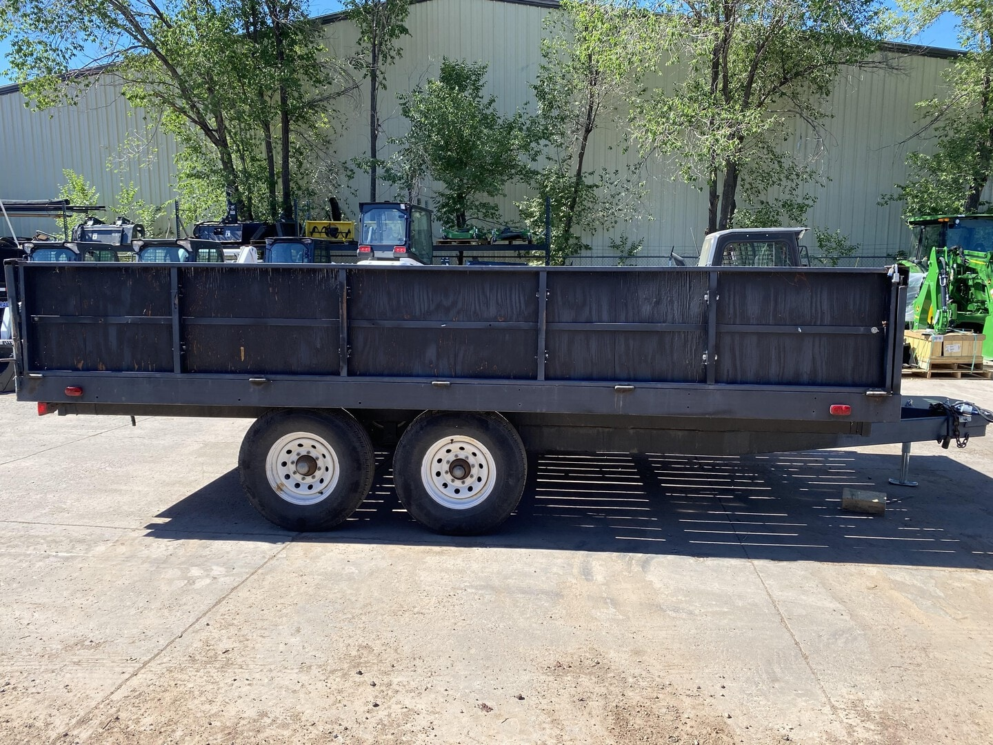 Used, 2007, Flagstaff, Home made , Flatbed Trailers