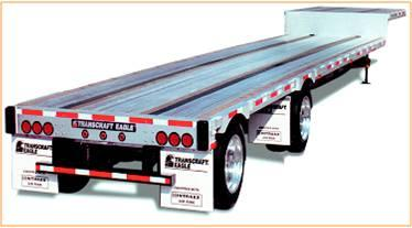 New, 2020, Transcraft, Tandem Aluminum Drop Frame/Step Deck, Truck Trailers