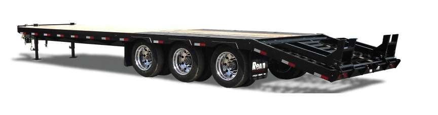 New, 2020, Renn, ET28T-675BT, Equipment Trailers