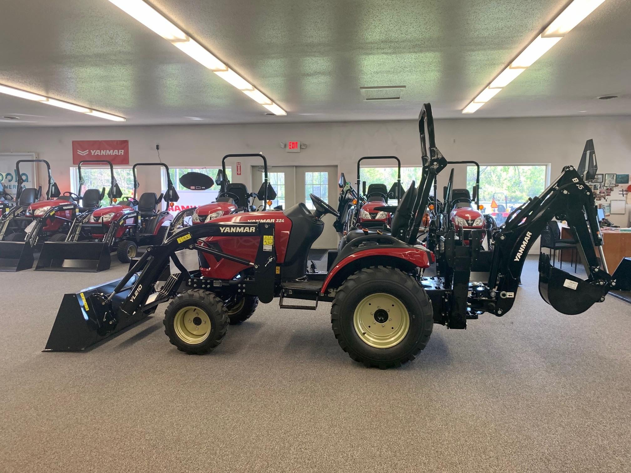 New, 2021, Yanmar, SA324, Tractors