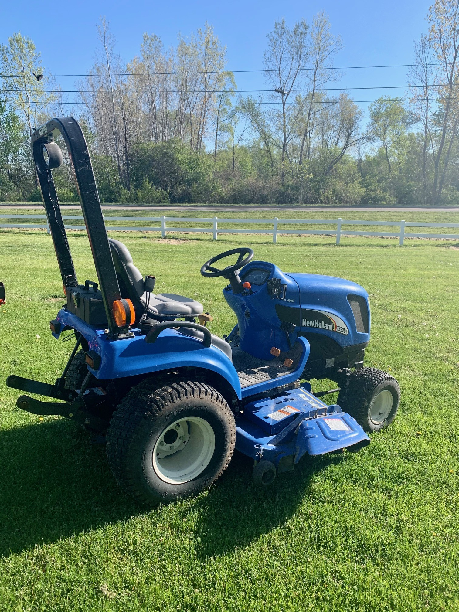 Used, 2007, New Holland Agriculture, Boomer™ Sub-Compact - TZ22DA, Tractors