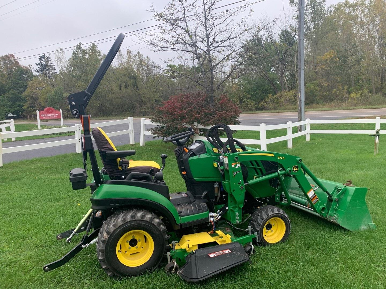 Used, 2018, John Deere, 1 Family 1025R, Tractors