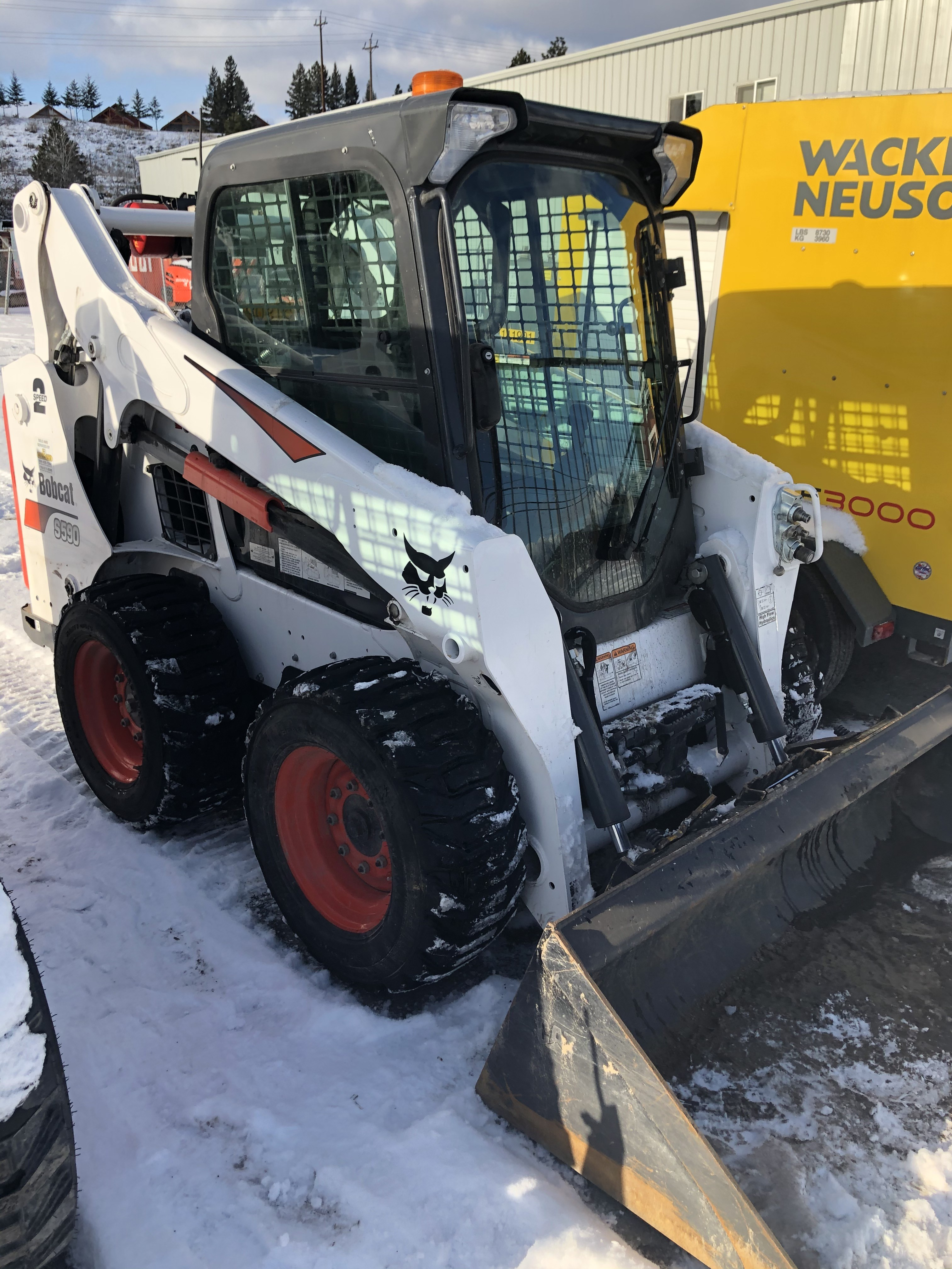 Used, 2019, Bobcat, S590, Loaders
