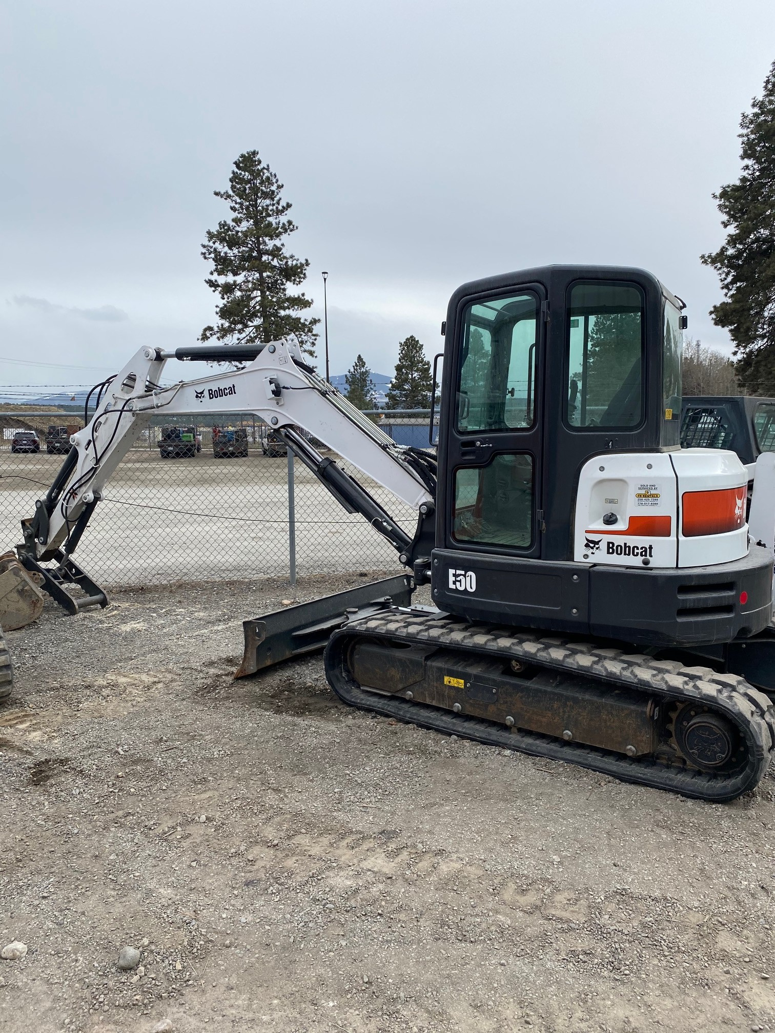 Used, 2019, Bobcat, E50, Excavators