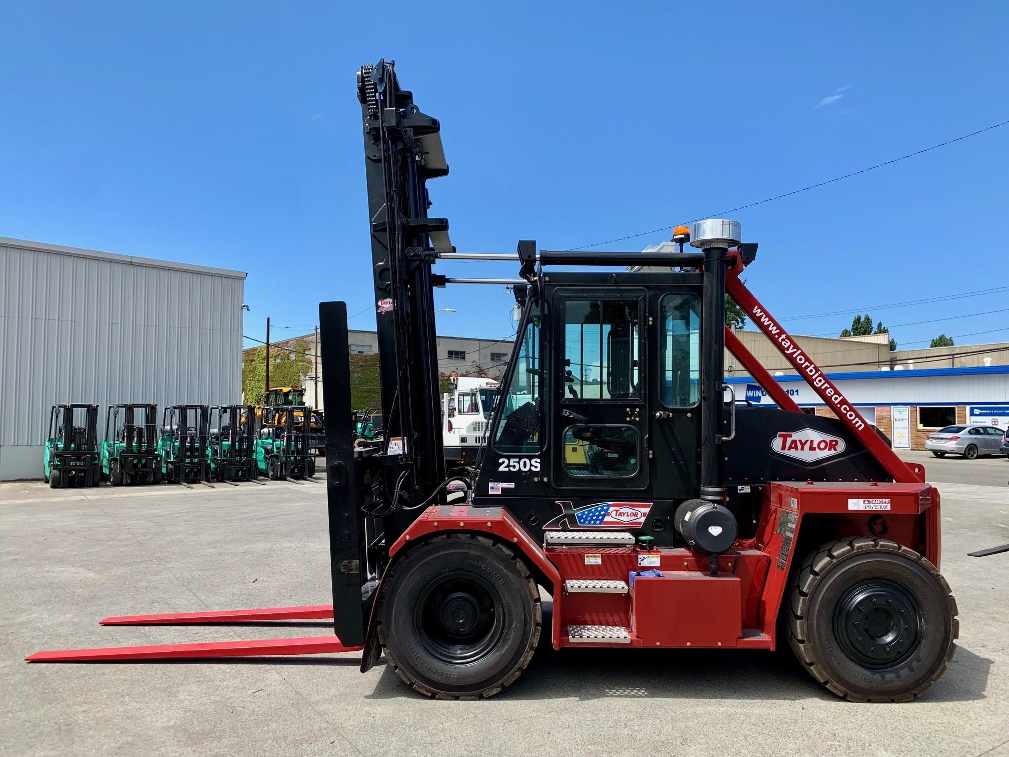 New, 2019, Taylor, X-250S, Forklifts / Lift Trucks