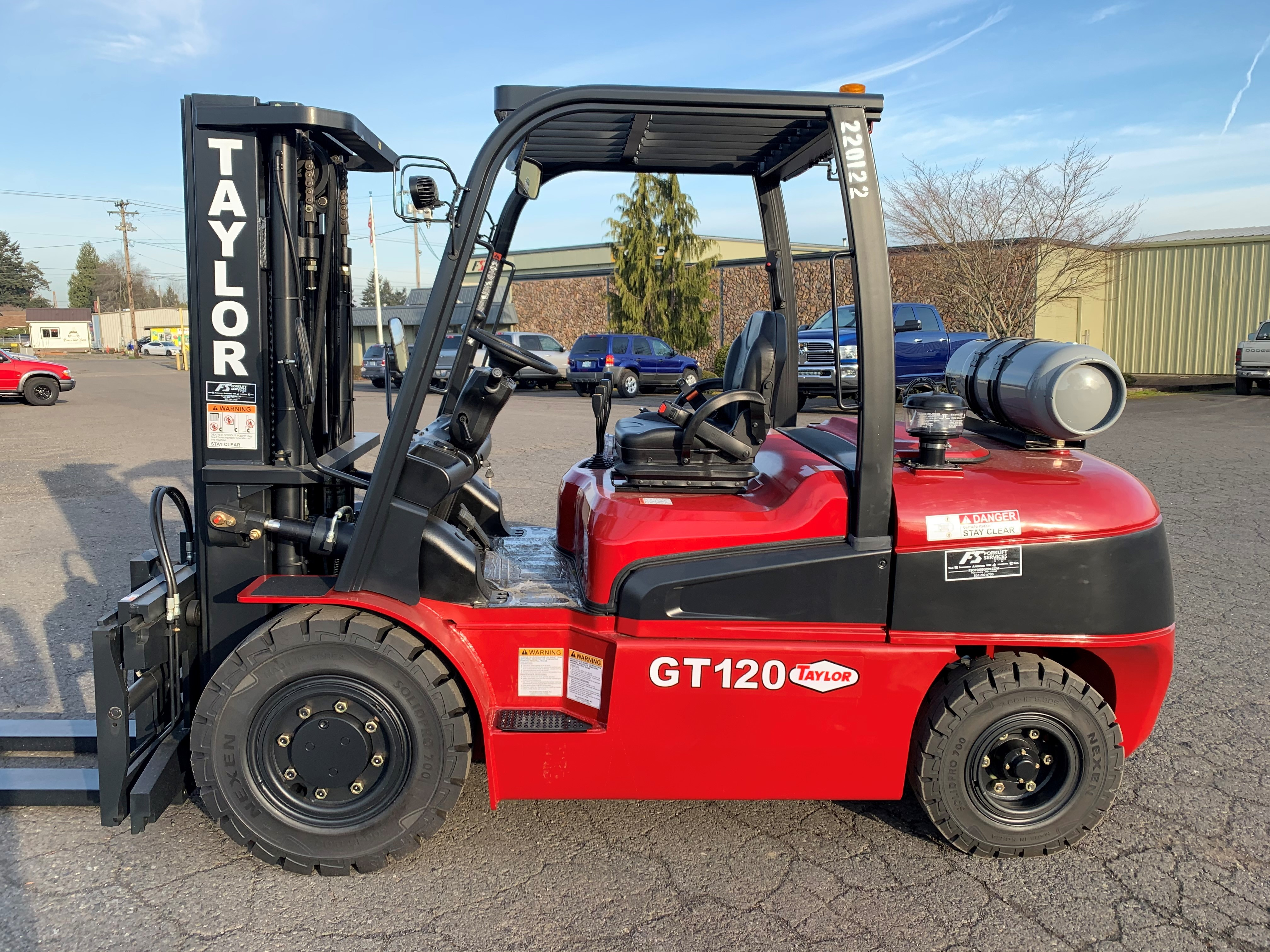 New, 2020, Taylor, GT120  (4 valve), Forklifts / Lift Trucks