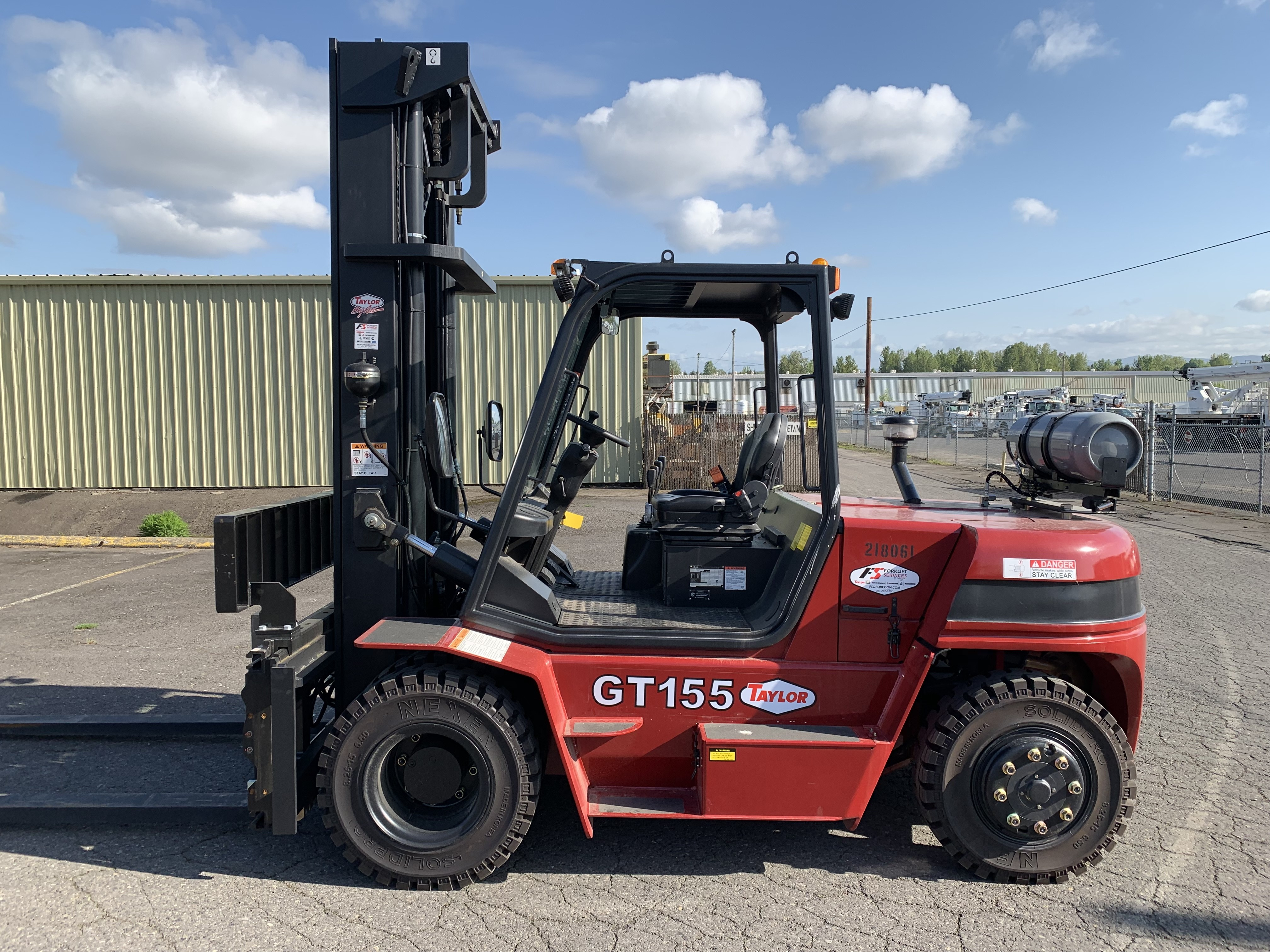 New, 2019, Taylor, GT-155, Forklifts / Lift Trucks