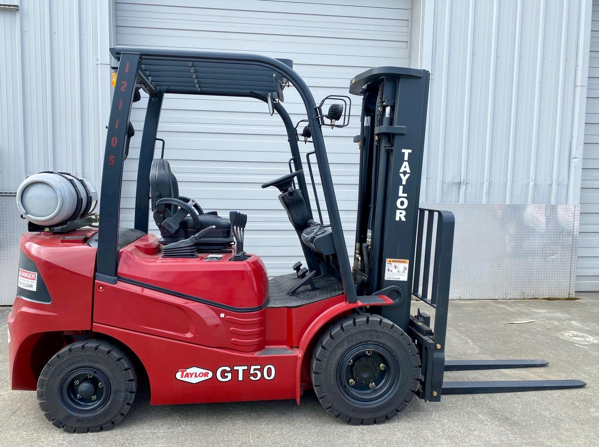 New, 2021, Taylor, GT50, Forklifts / Lift Trucks