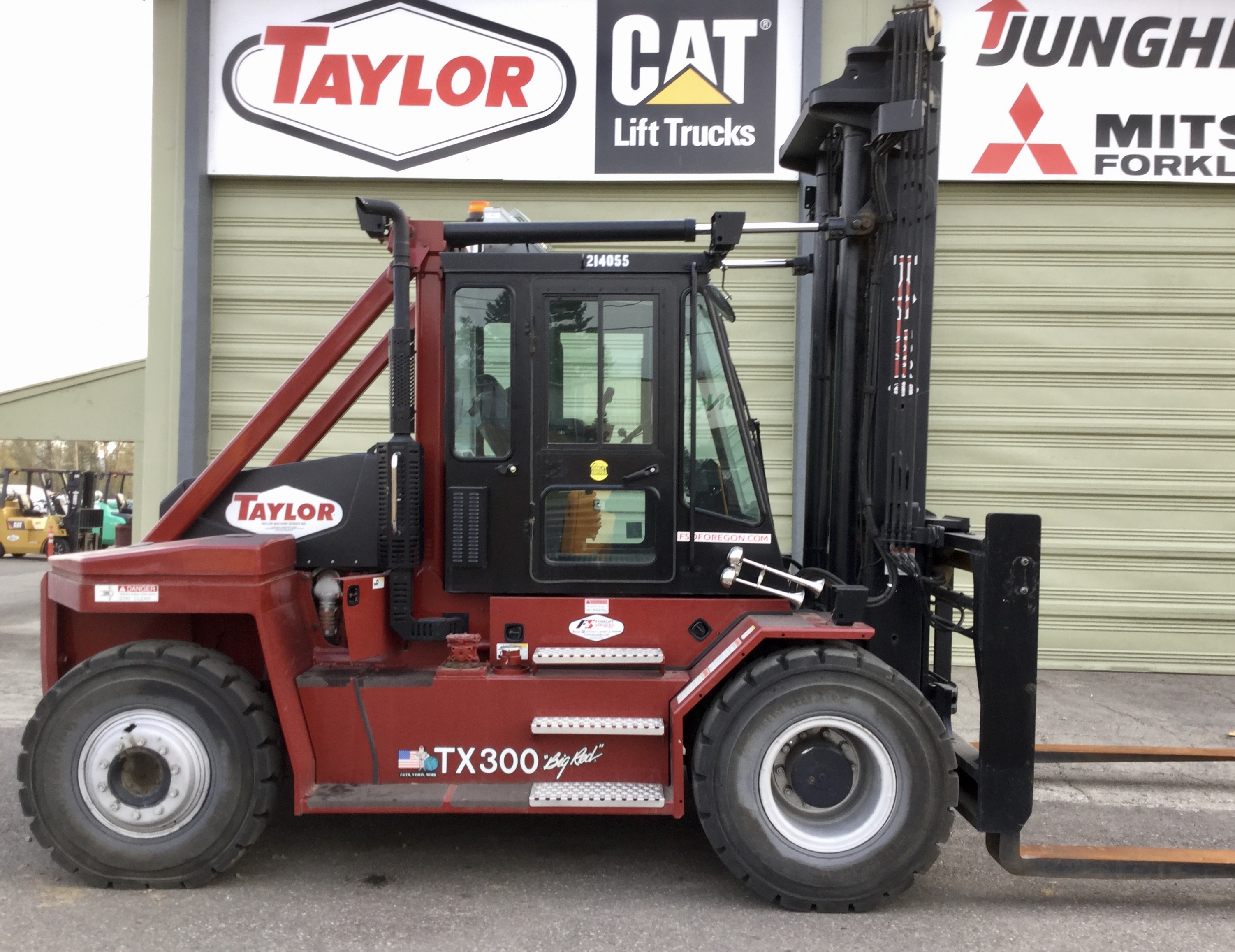 Used, 2015, Taylor, TX-300M, Forklifts / Lift Trucks