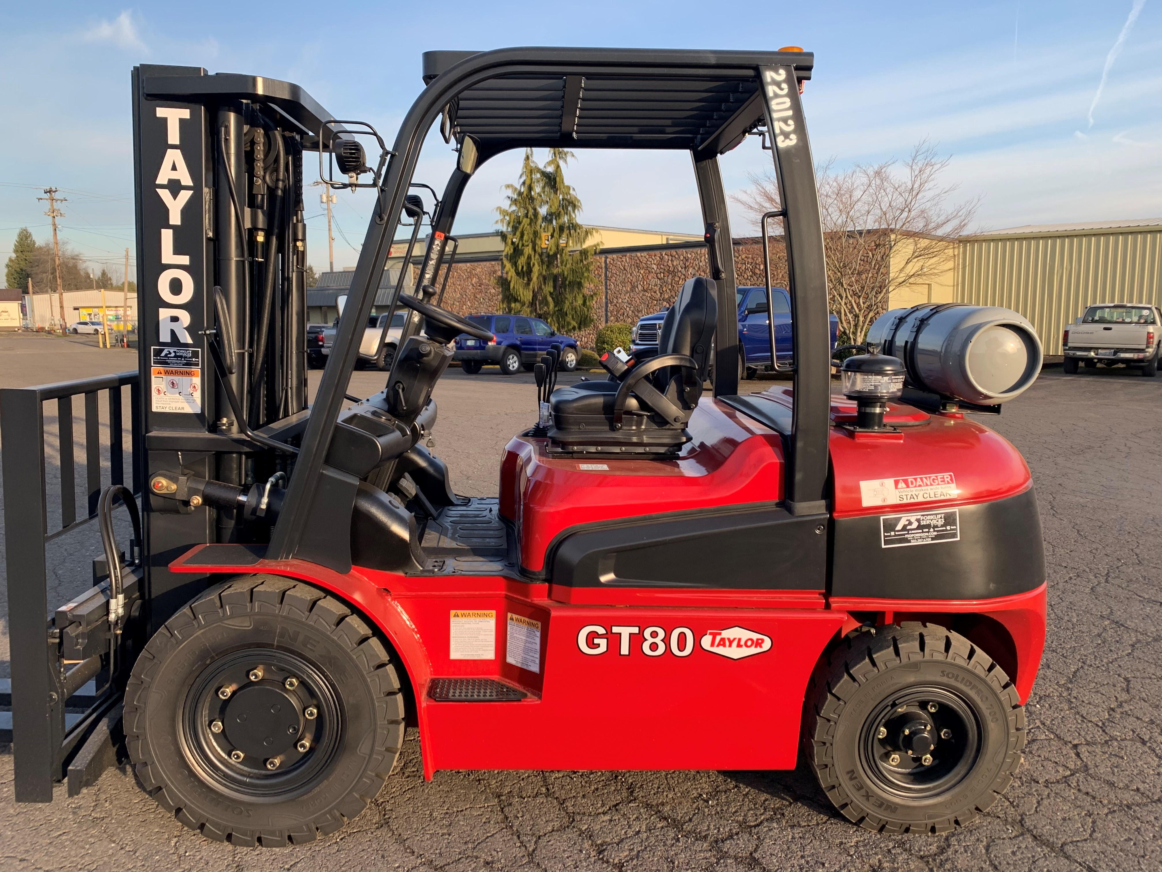 New, 2020, Taylor, GT80  (4 valve), Forklifts / Lift Trucks