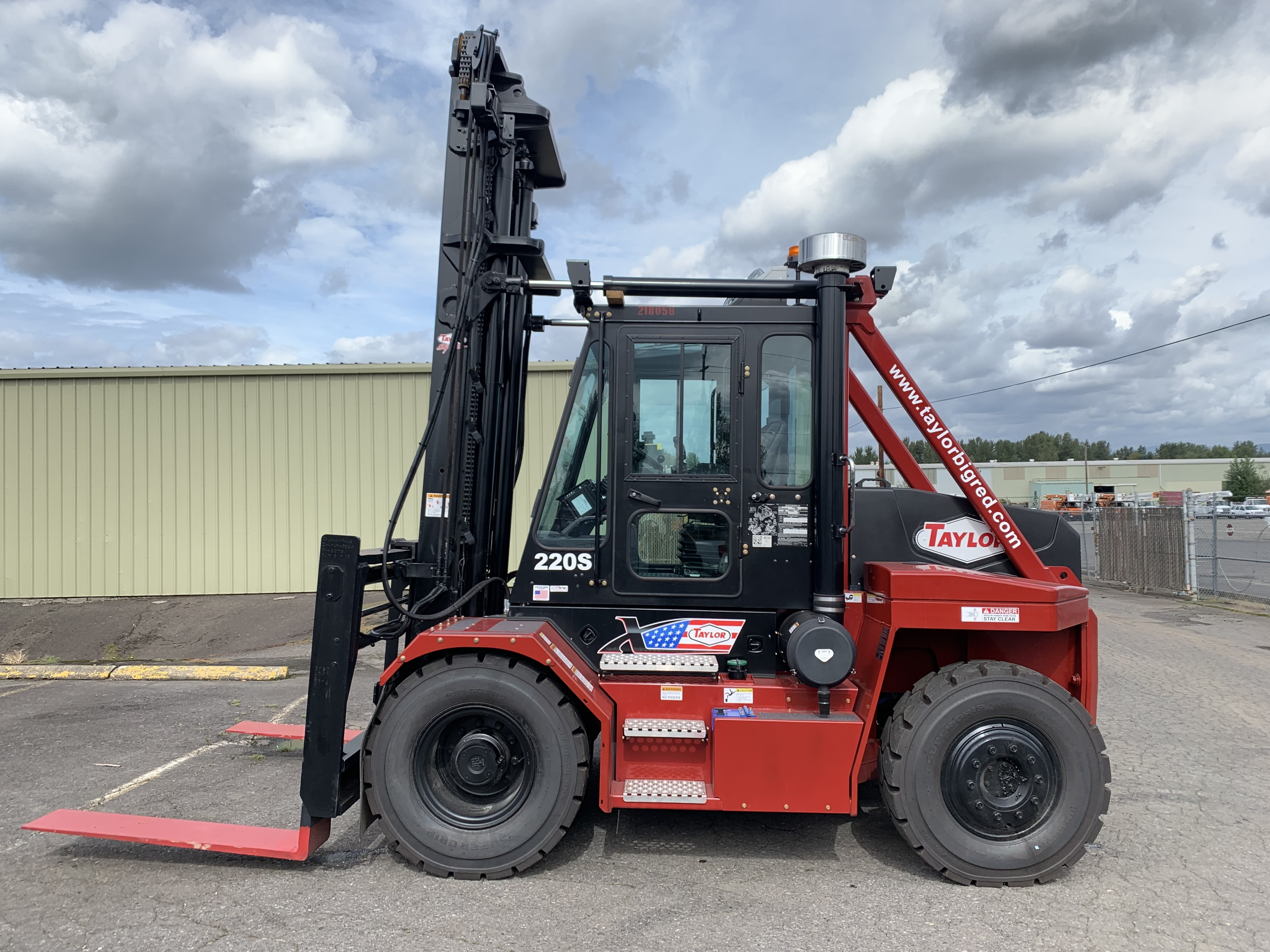 New, 2018, Taylor, X220S, Forklifts / Lift Trucks