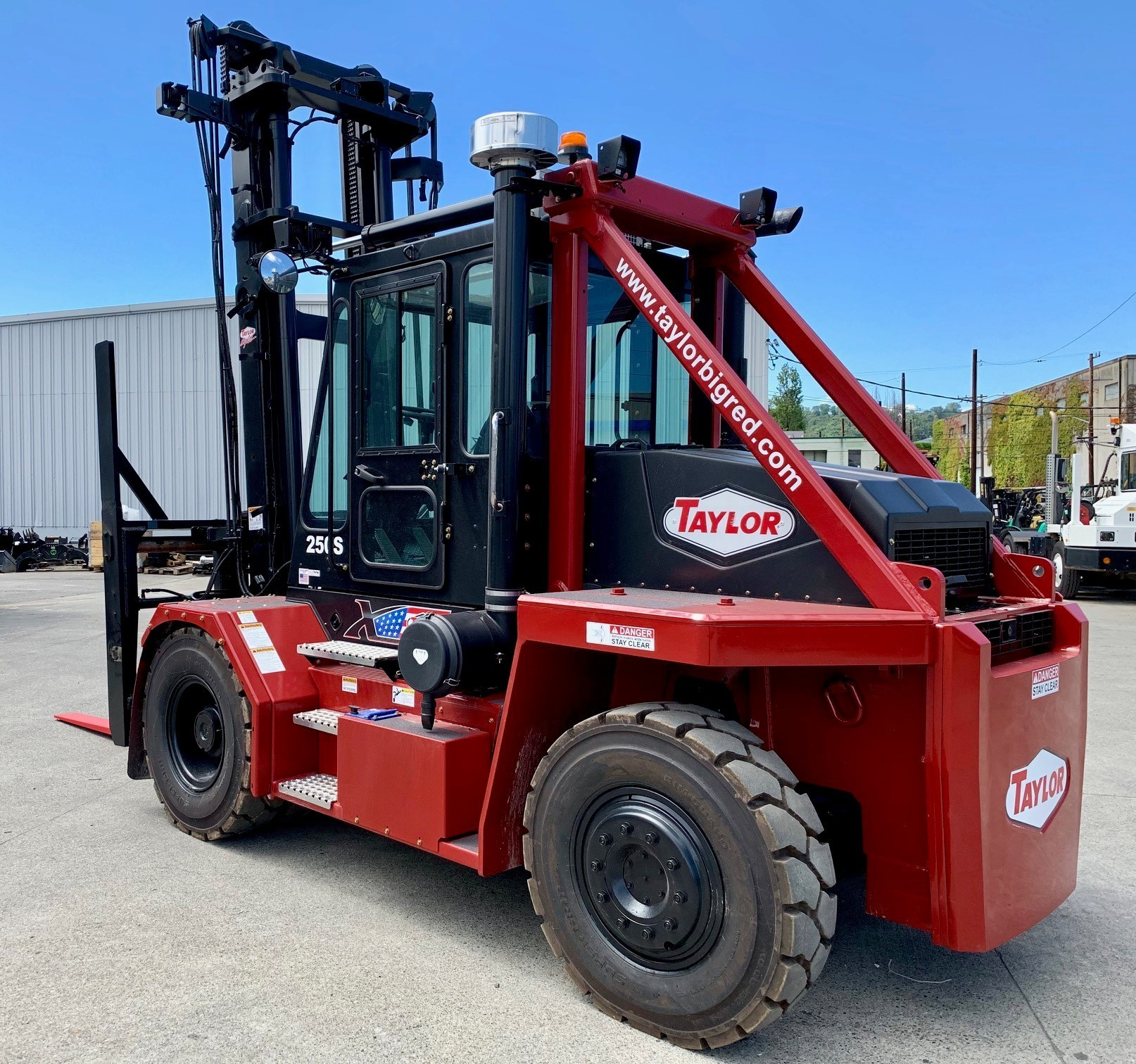 New, 2019, Taylor, X-250S, Forklifts / Lift Trucks