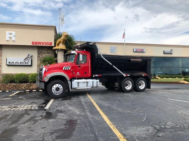 Used, 2016, Mack, GU713, Dump Trucks