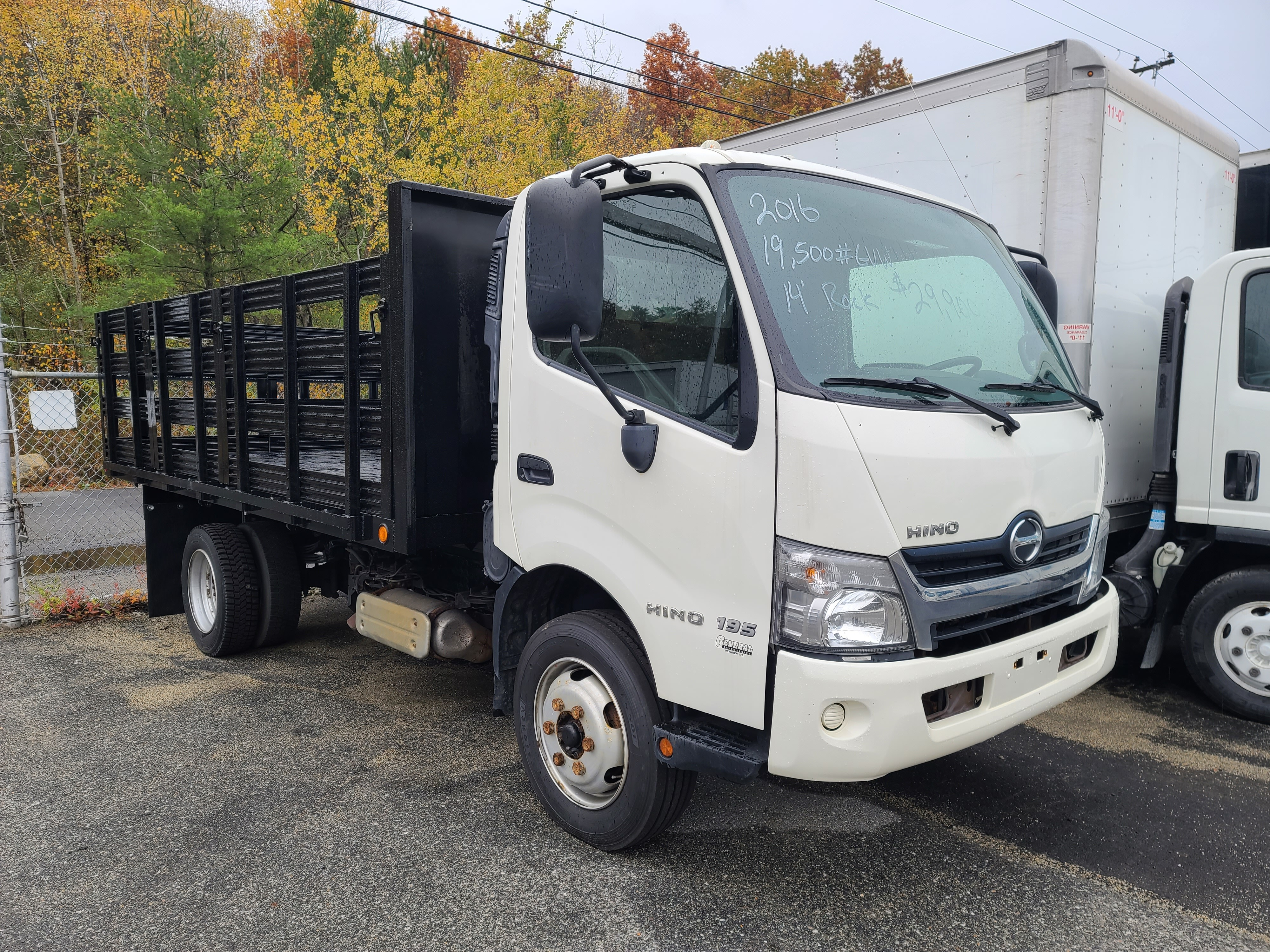 Used, 2016, Hino, 195, Cab / Chassis Trucks