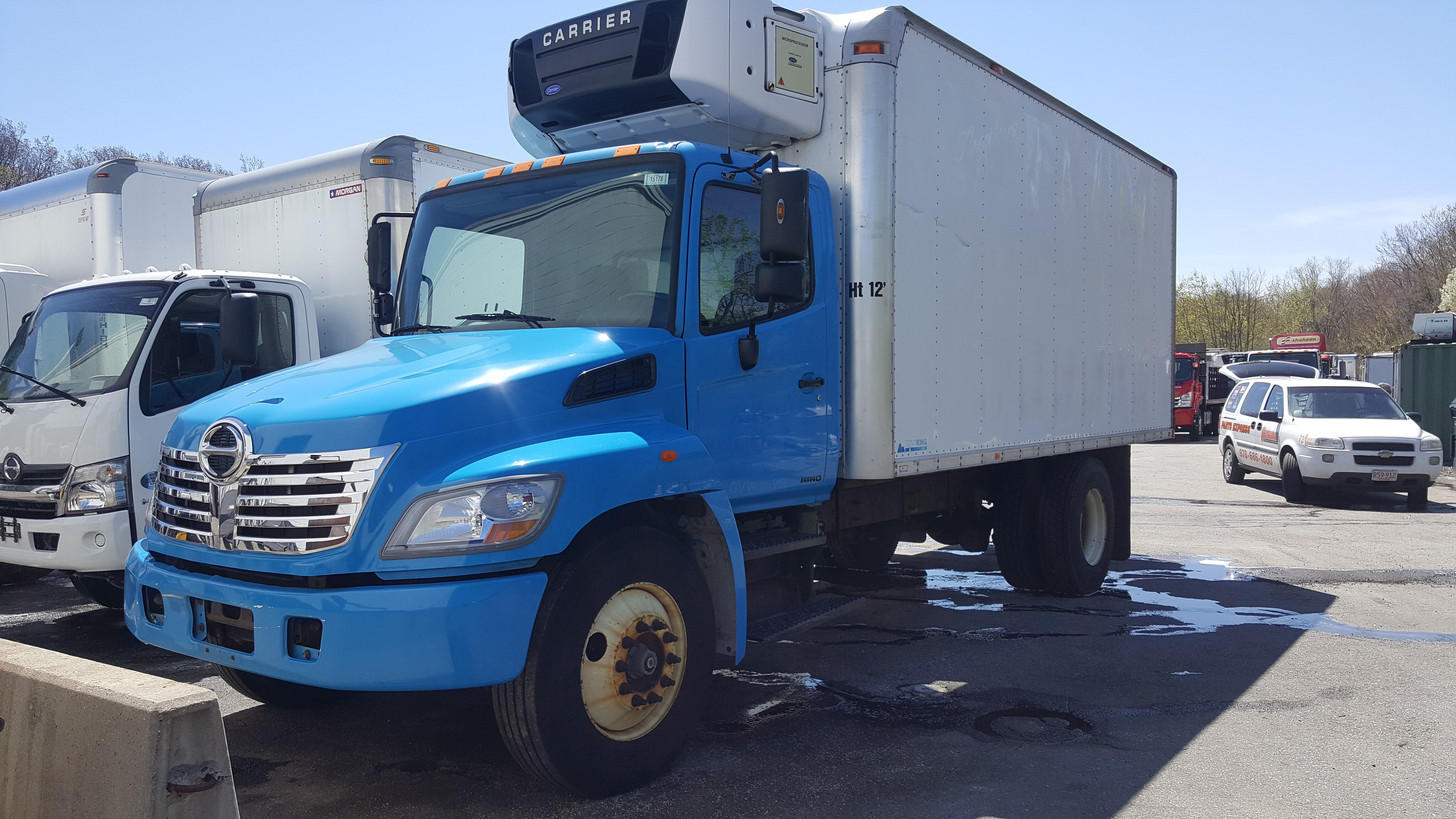 Used, 2010, Hino, 268 A, Cab / Chassis Trucks
