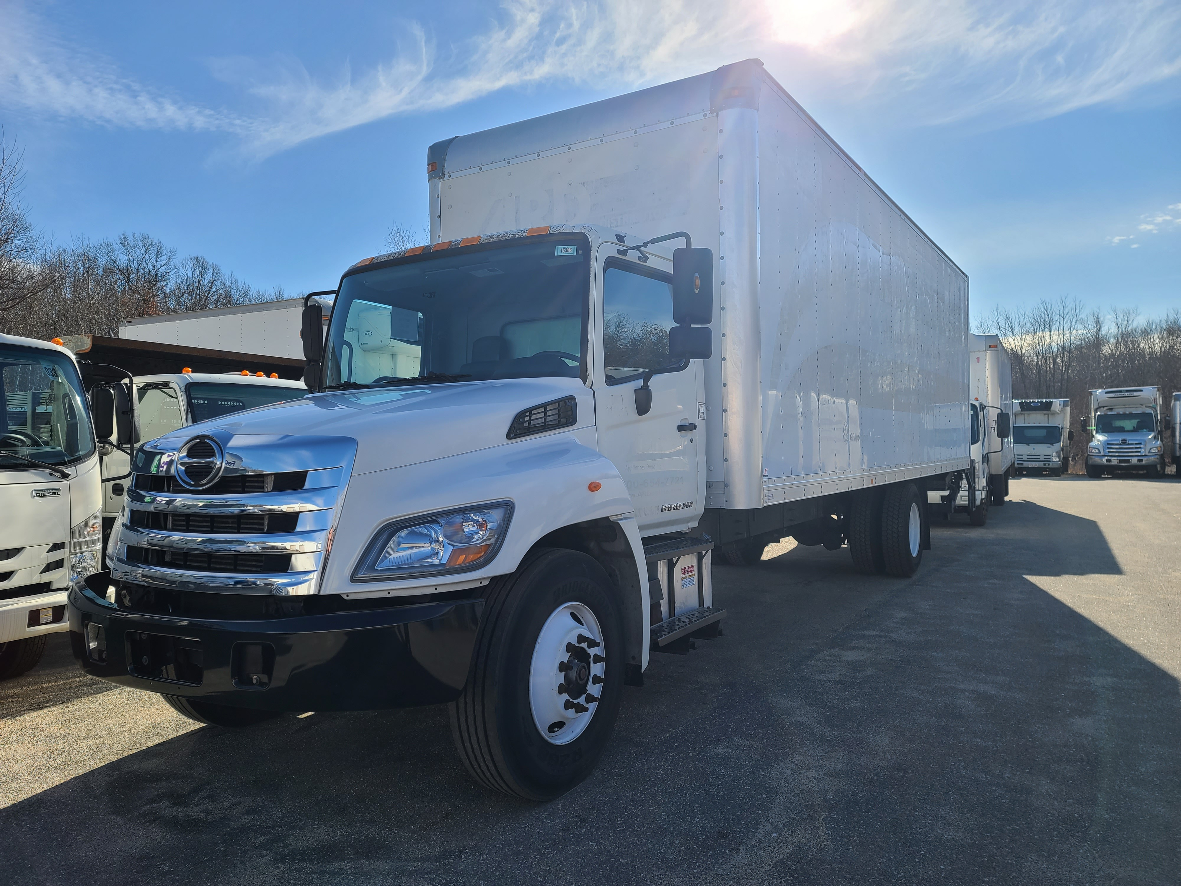 Used, 2015, Hino, 268A, Cab / Chassis Trucks