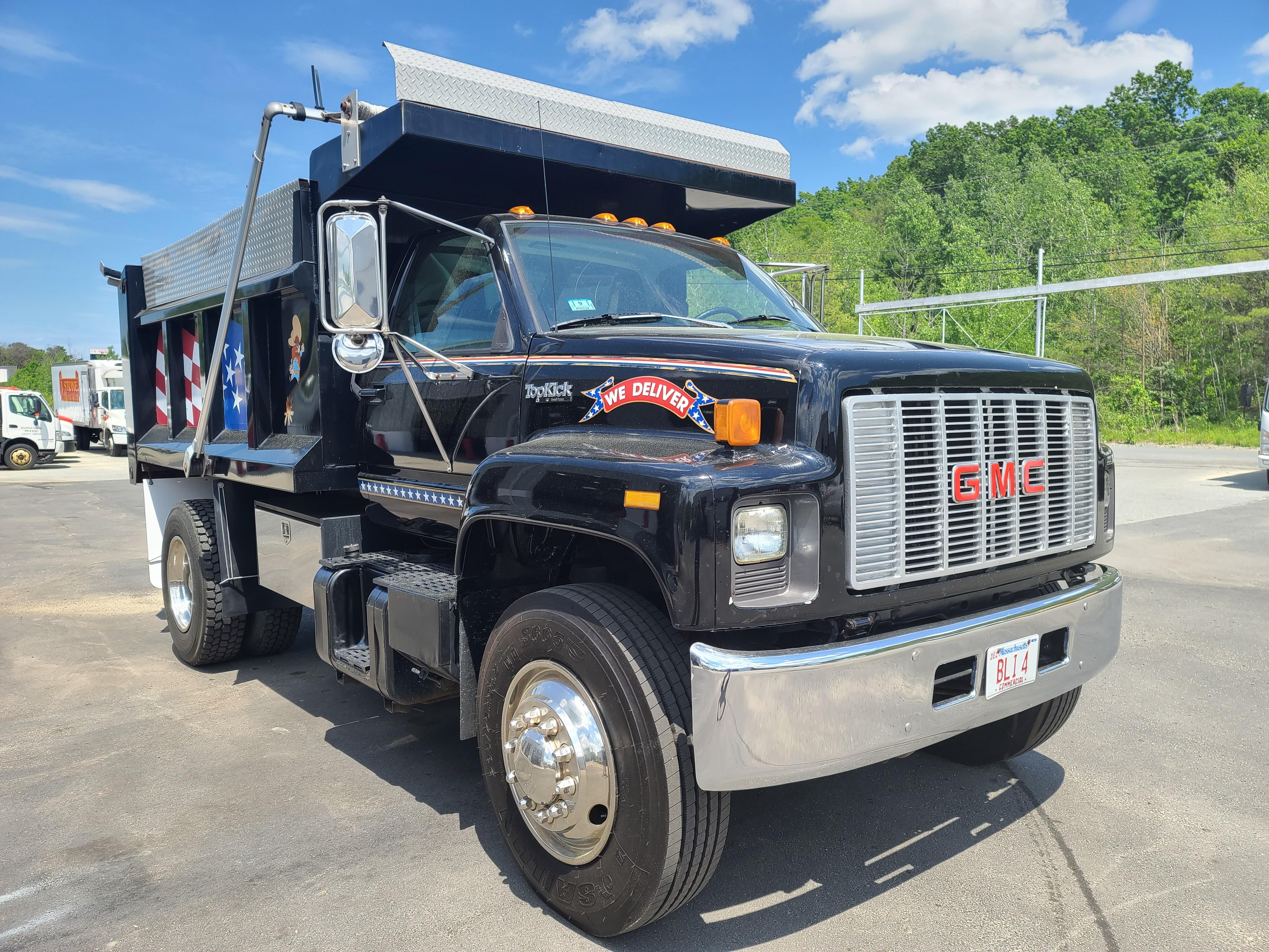 Used, 1994, GMC, TOPKICK 4500, Dump Trucks