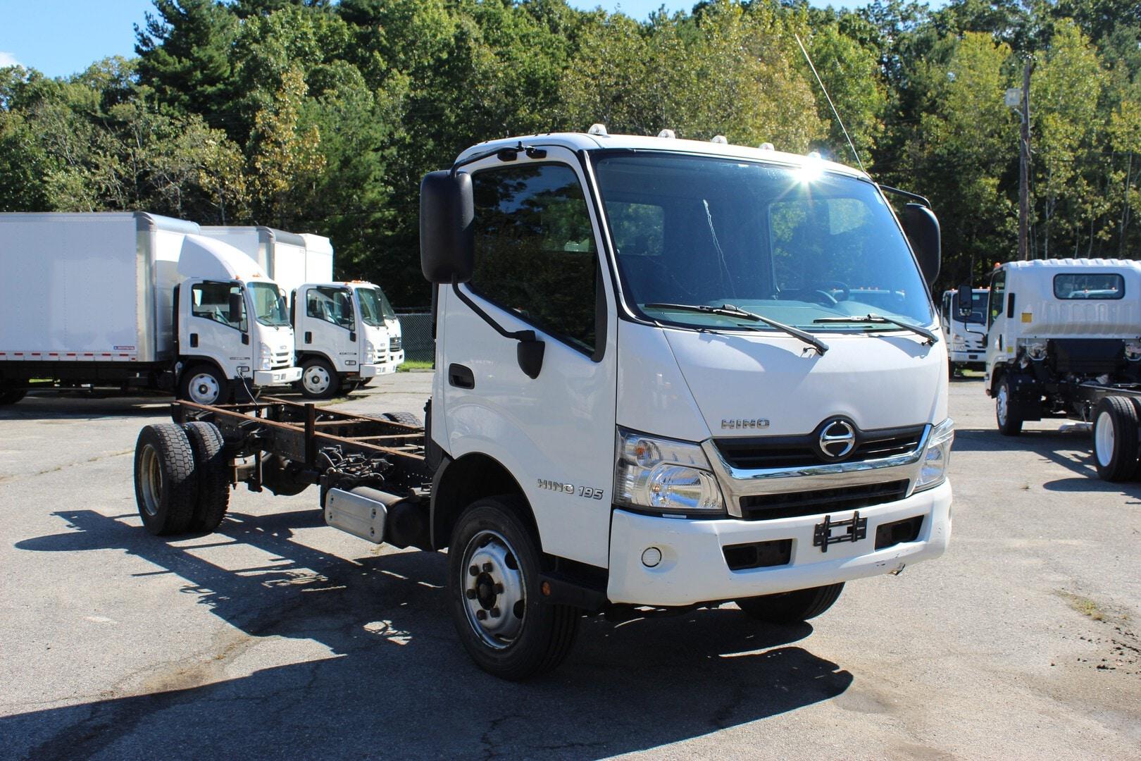 Used, 2017, Hino, 195, Cab / Chassis Trucks