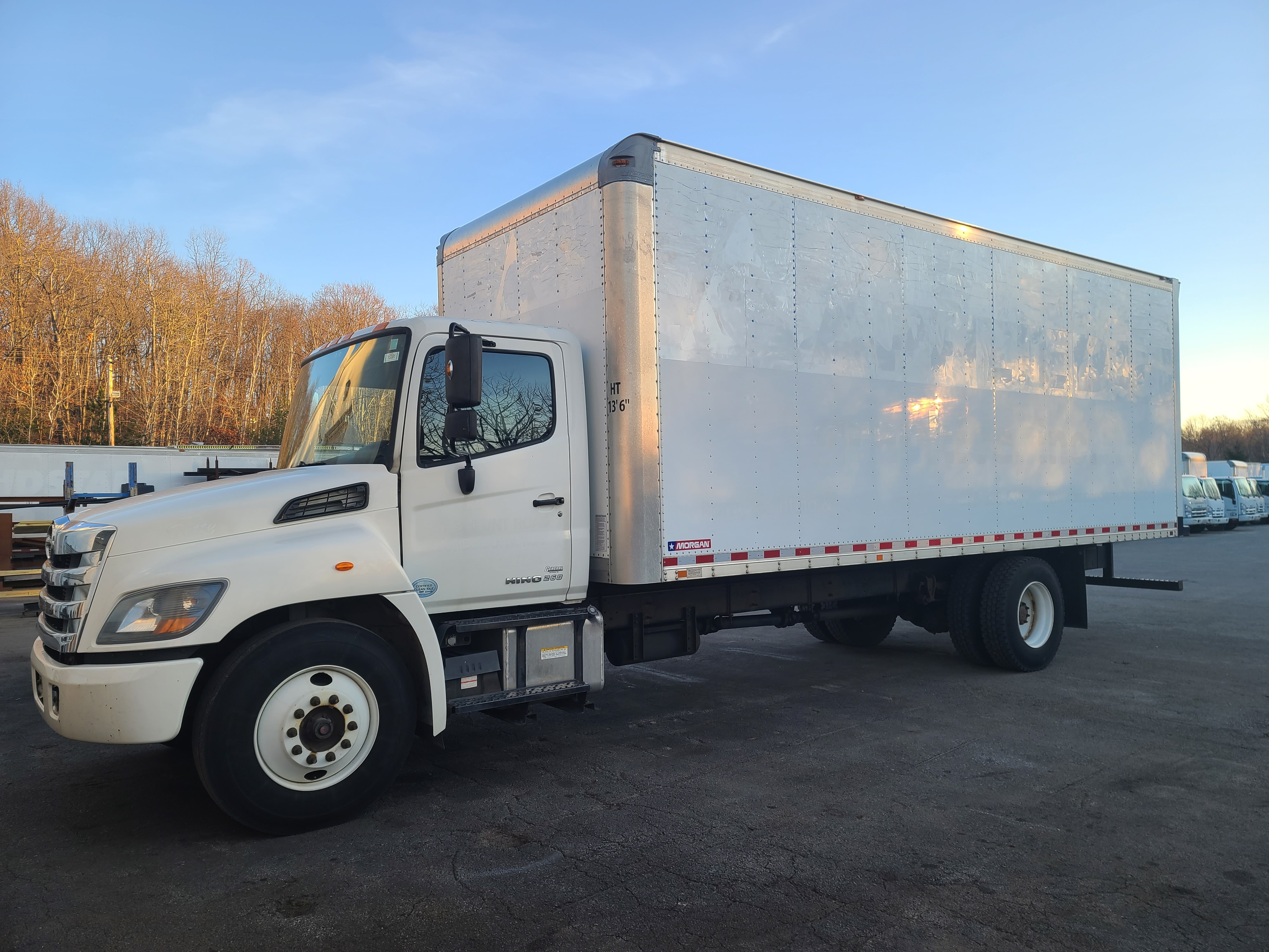 Used, 2014, Hino, 268A, Cab / Chassis Trucks