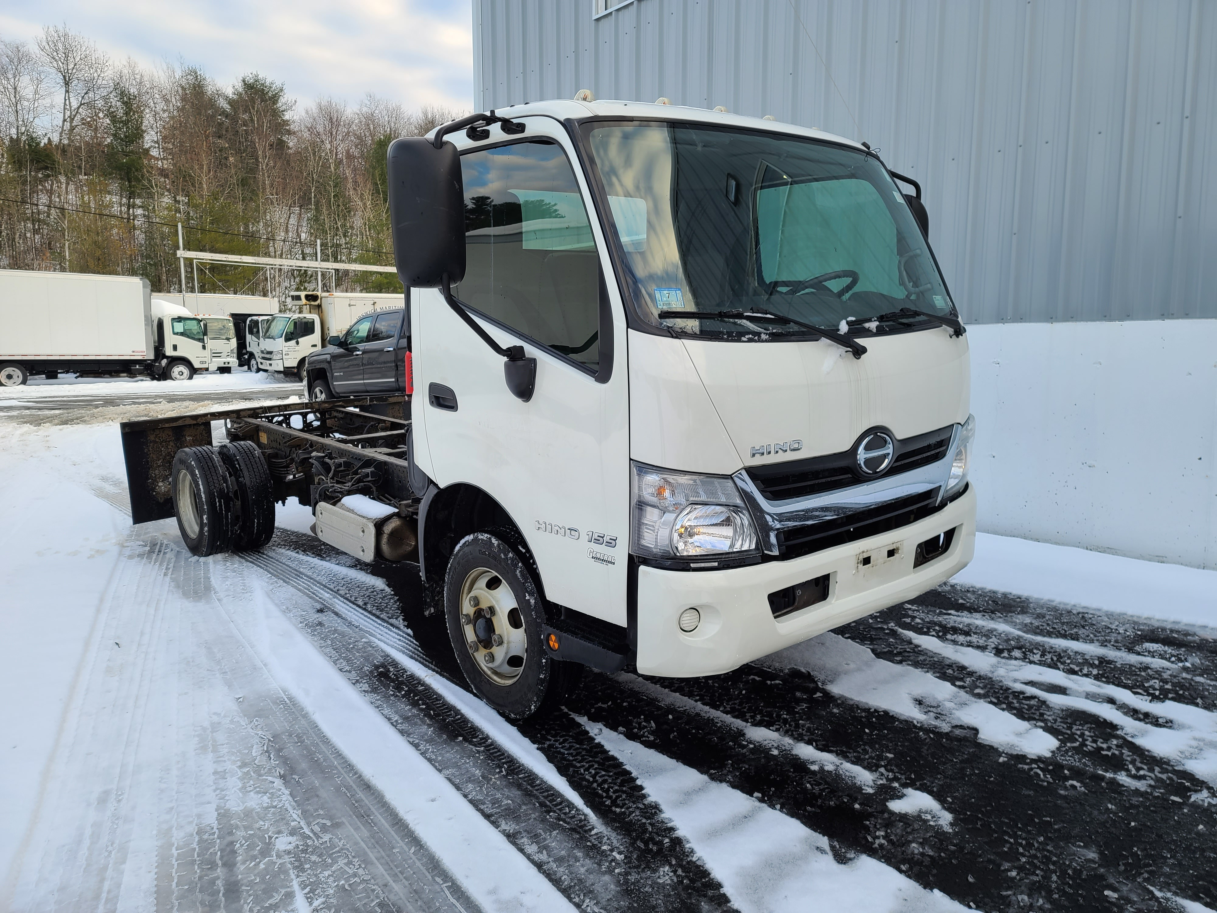 Used, 2016, Hino, 155, Cab / Chassis Trucks