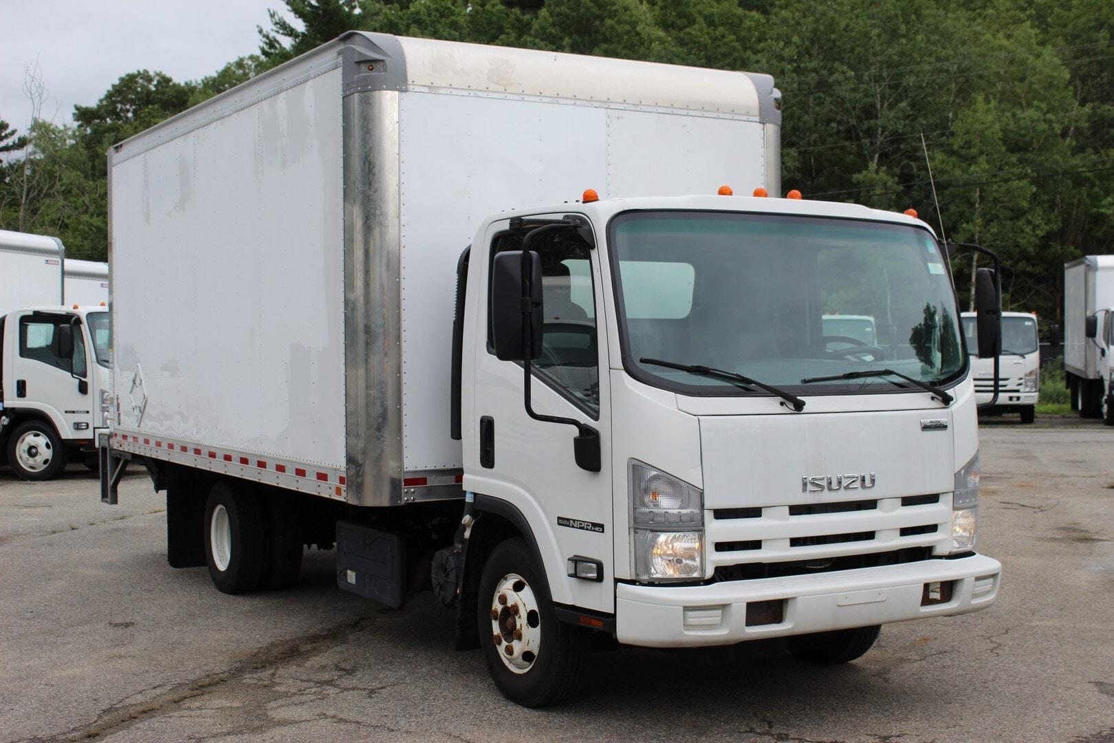 Used, 2015, Isuzu, NPR-HD Diesel, Cab / Chassis Trucks