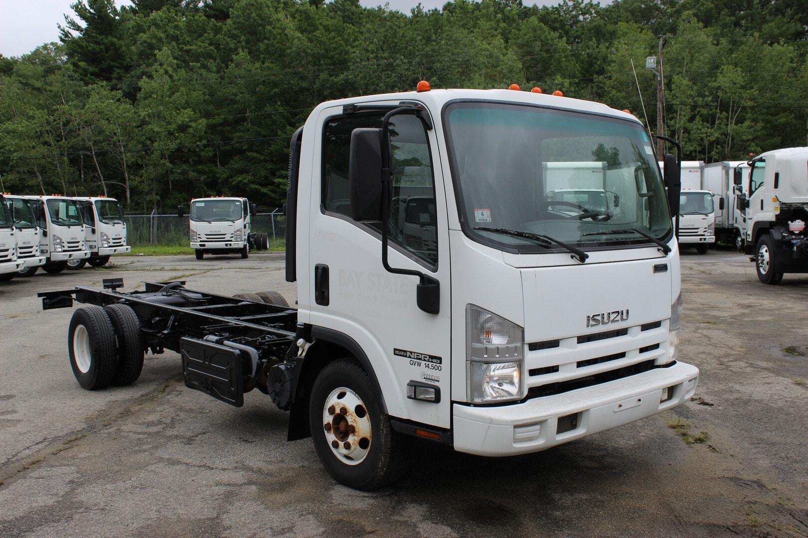 Used, 2014, Isuzu, NPR-HD Diesel, Cab / Chassis Trucks