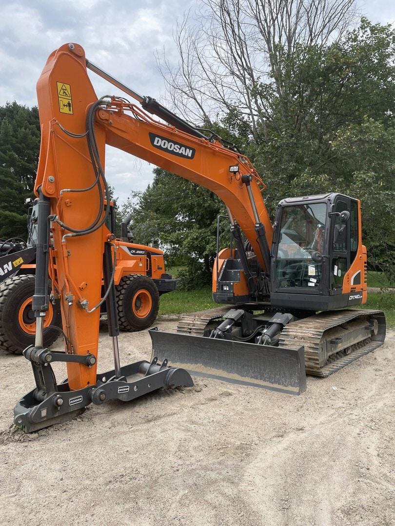 New, 2021, Doosan Construction, DX140LCR-5, Excavators