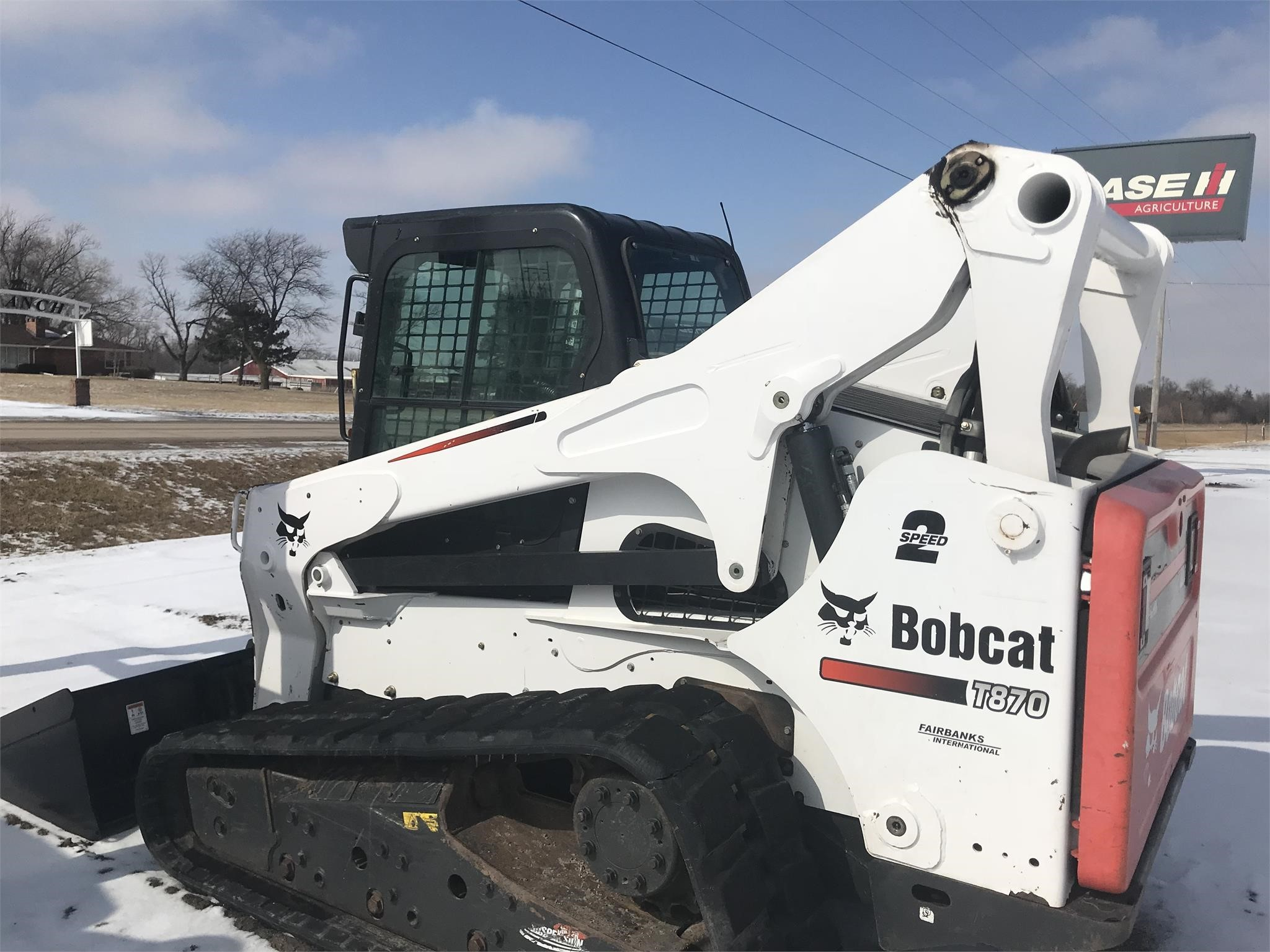 Used, 2013, Bobcat, T870, Loaders