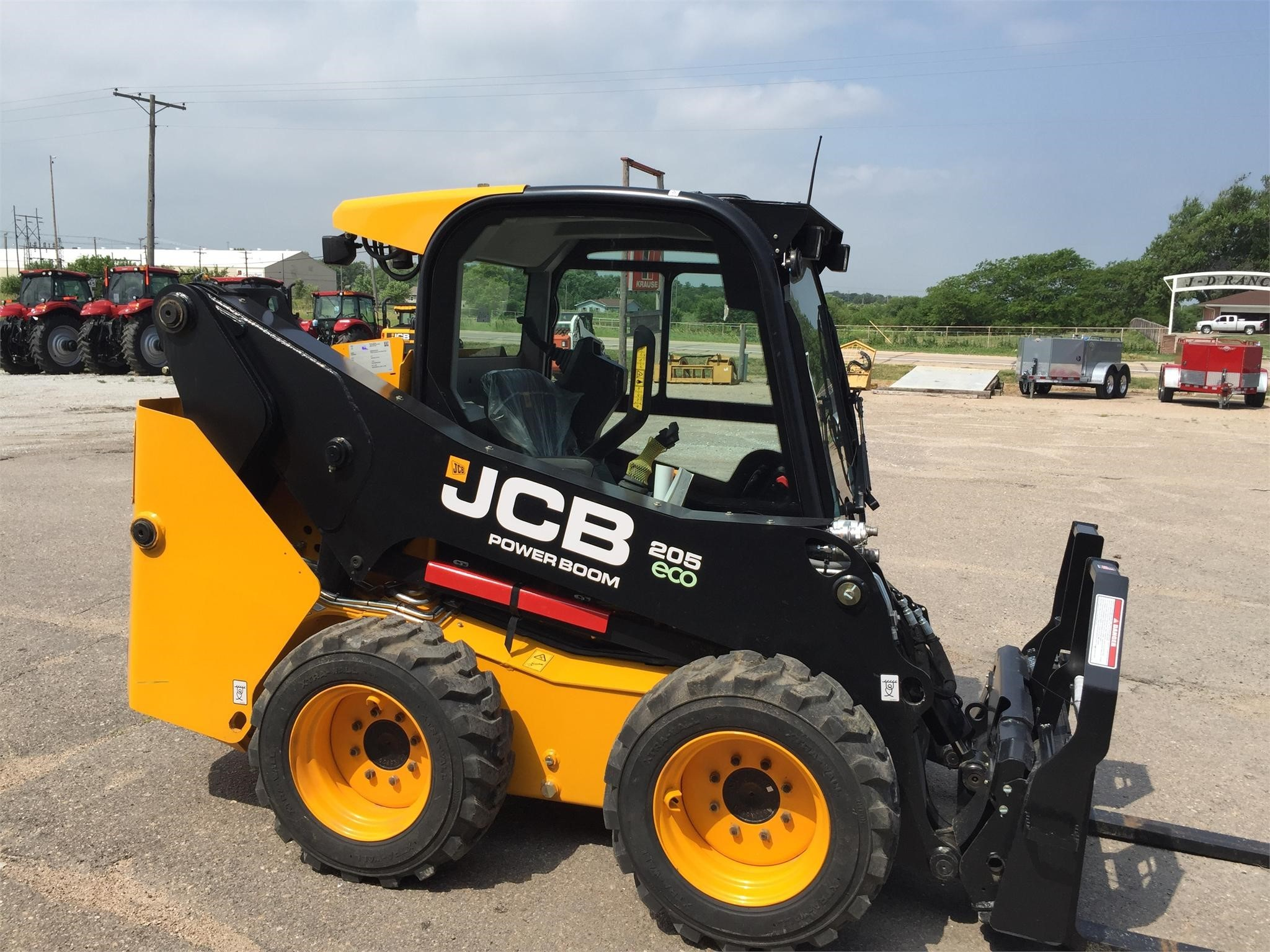 Used, 2014, JCB, 205, Skid Steers