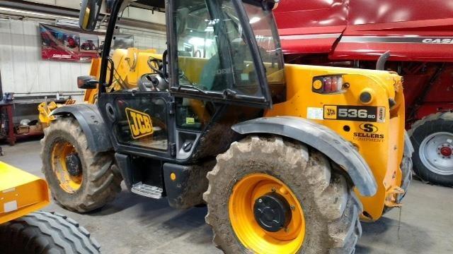 Used, 2008, JCB, 536-60 AGRI, Telehandlers