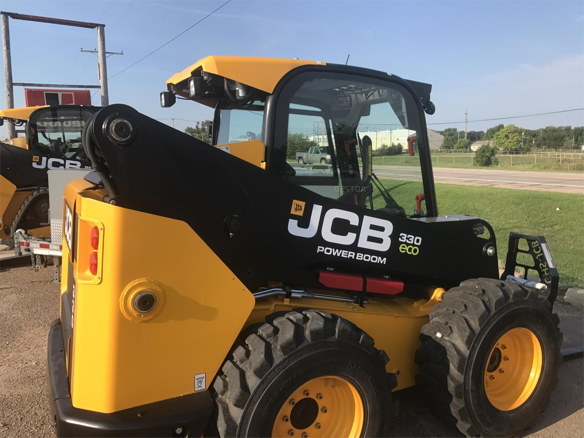Used, 2015, JCB, 330, Skid Steers