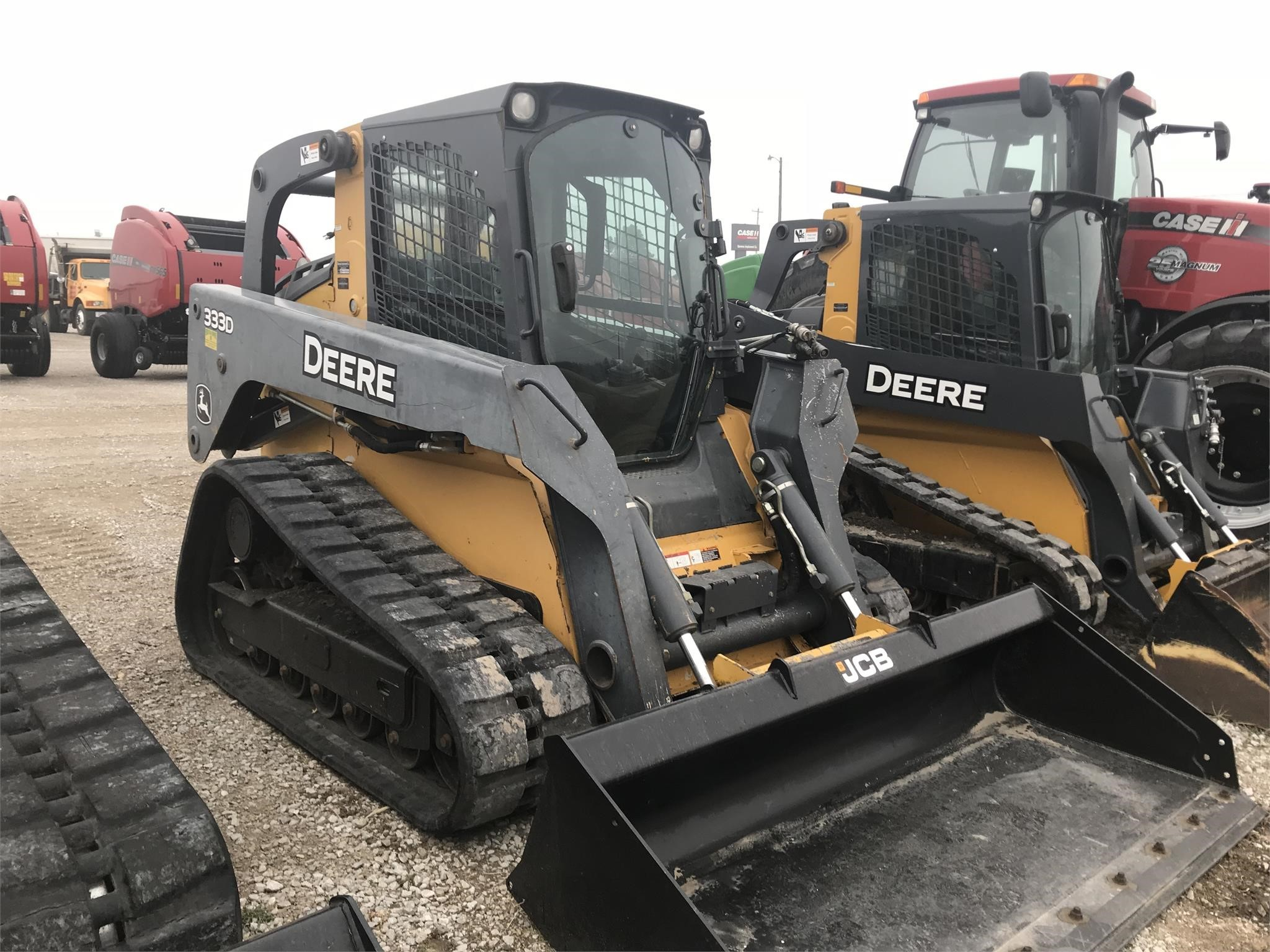 Used, 2011, John Deere Construction, 333D, Loaders