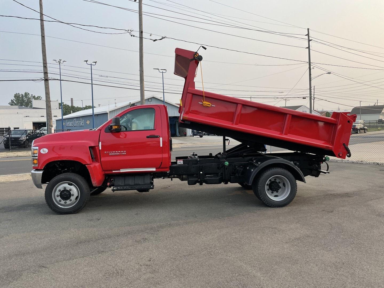 New, 2021, Chevrolet, SILVERADO 6500HD, Dump Trucks