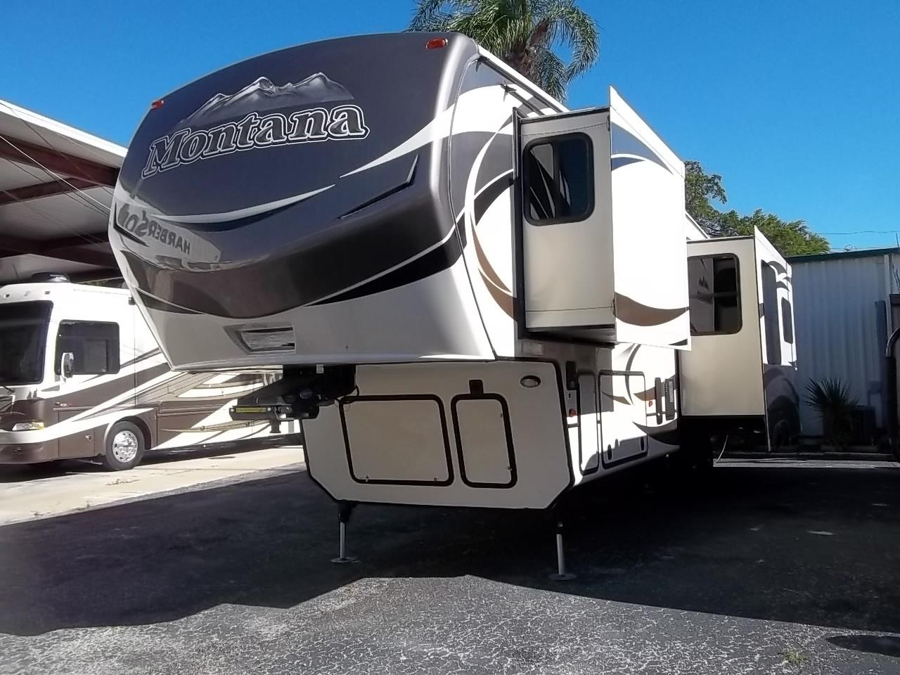 Used, 2015, Keystone, Montana 3160RL, Fifth Wheels