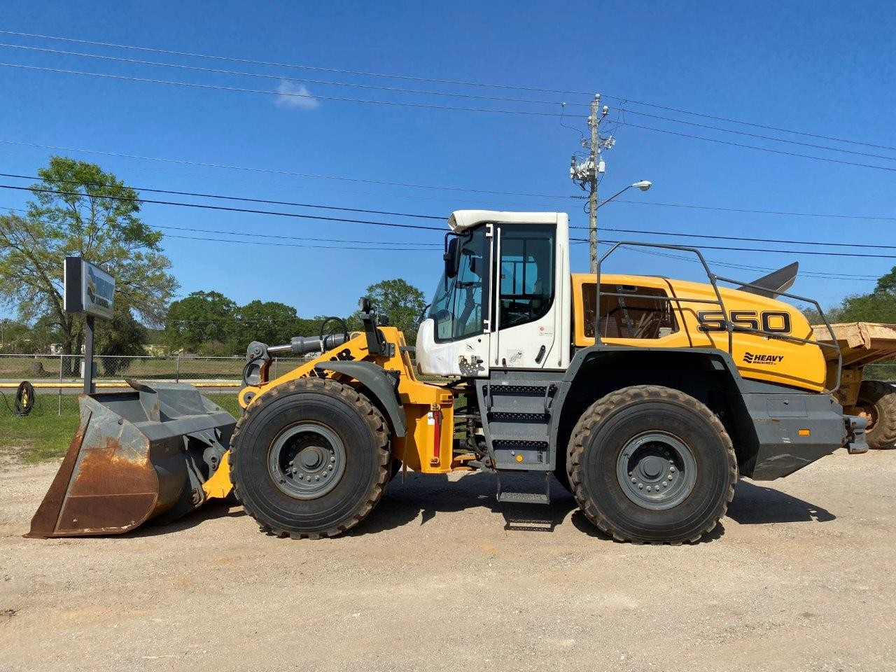 Used, 2018, Liebherr, L550Z, Wheeled Excavators