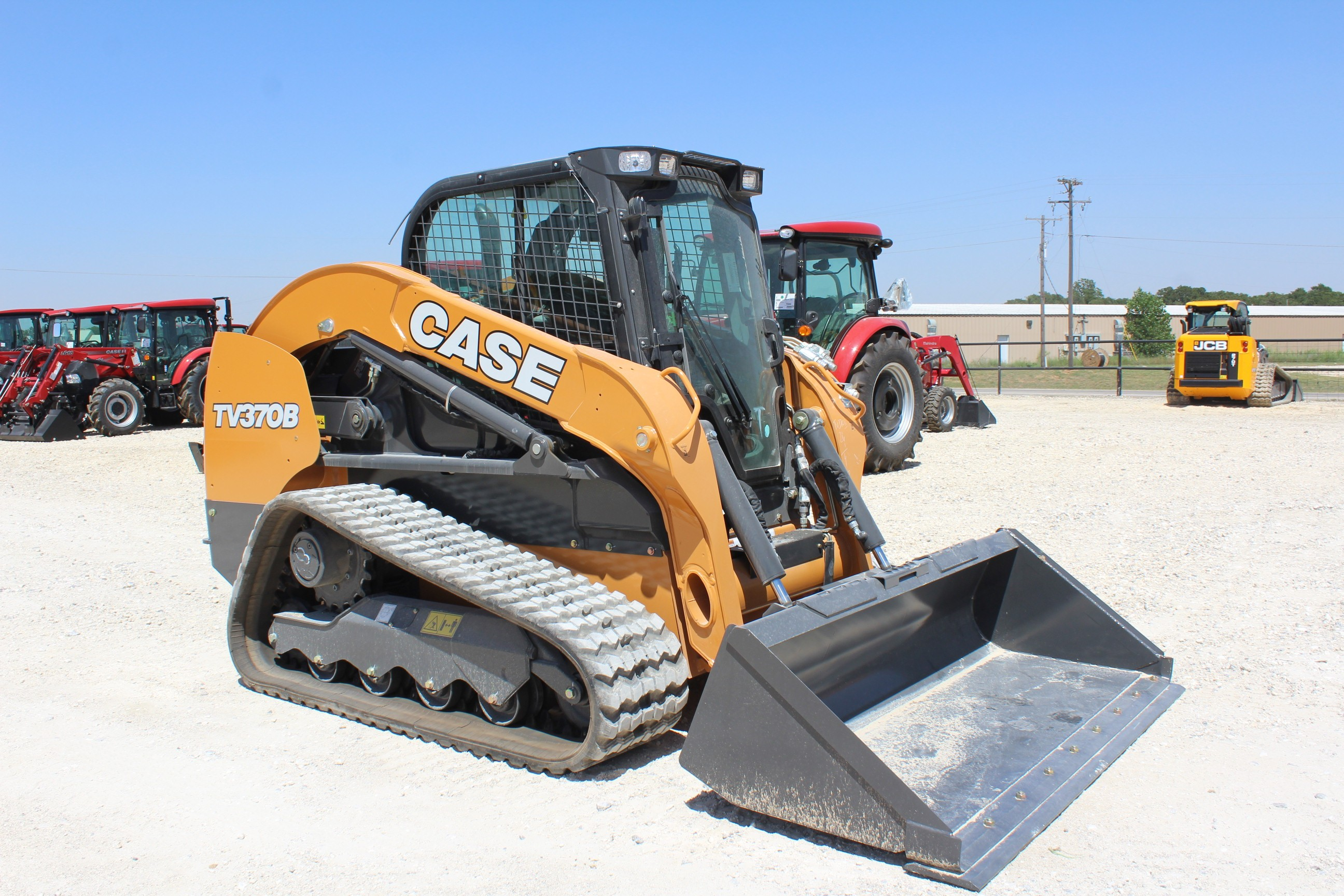 New, 2020, Case Construction, TV370B, Loaders
