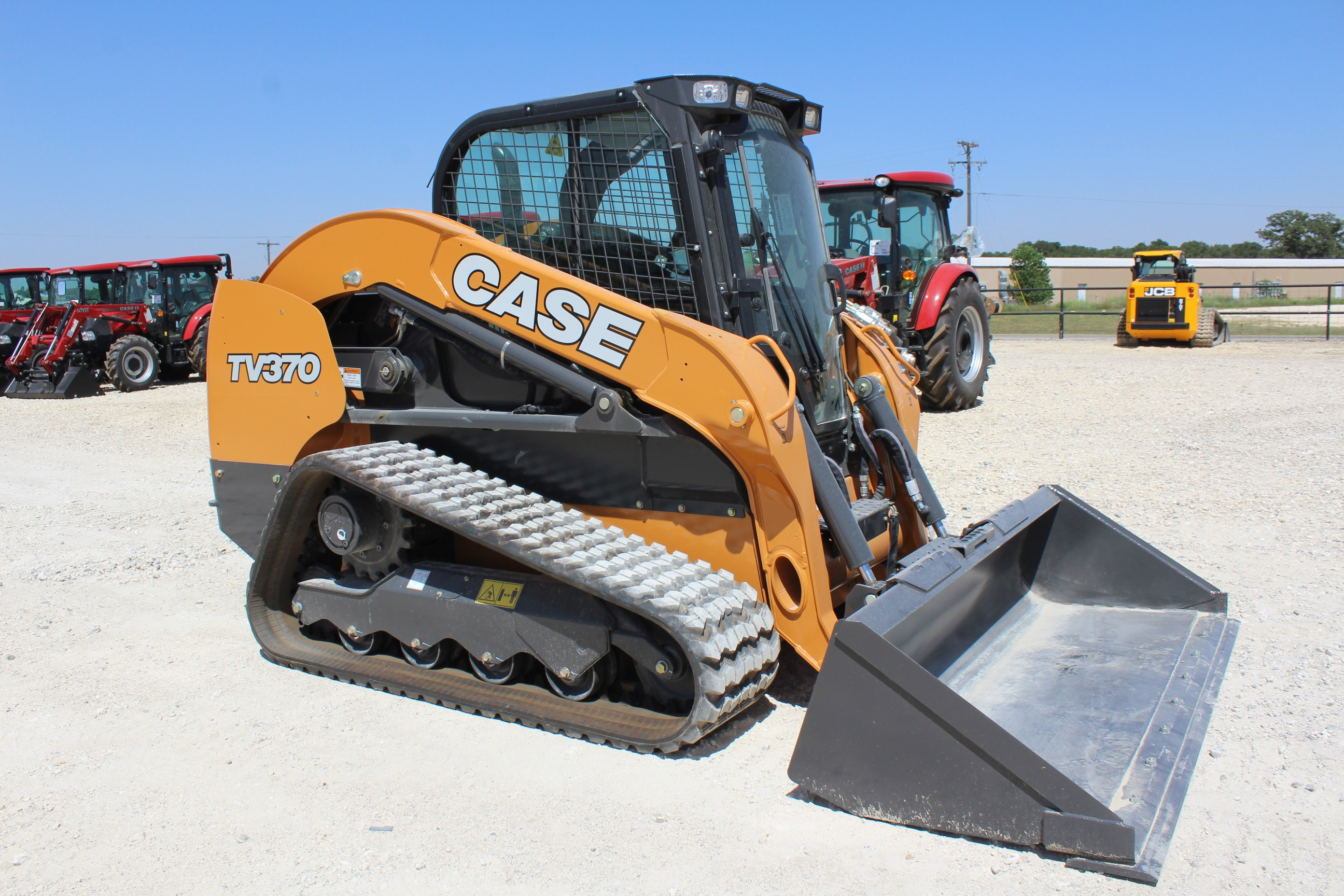 New, 2018, Case Construction, TV370, Loaders