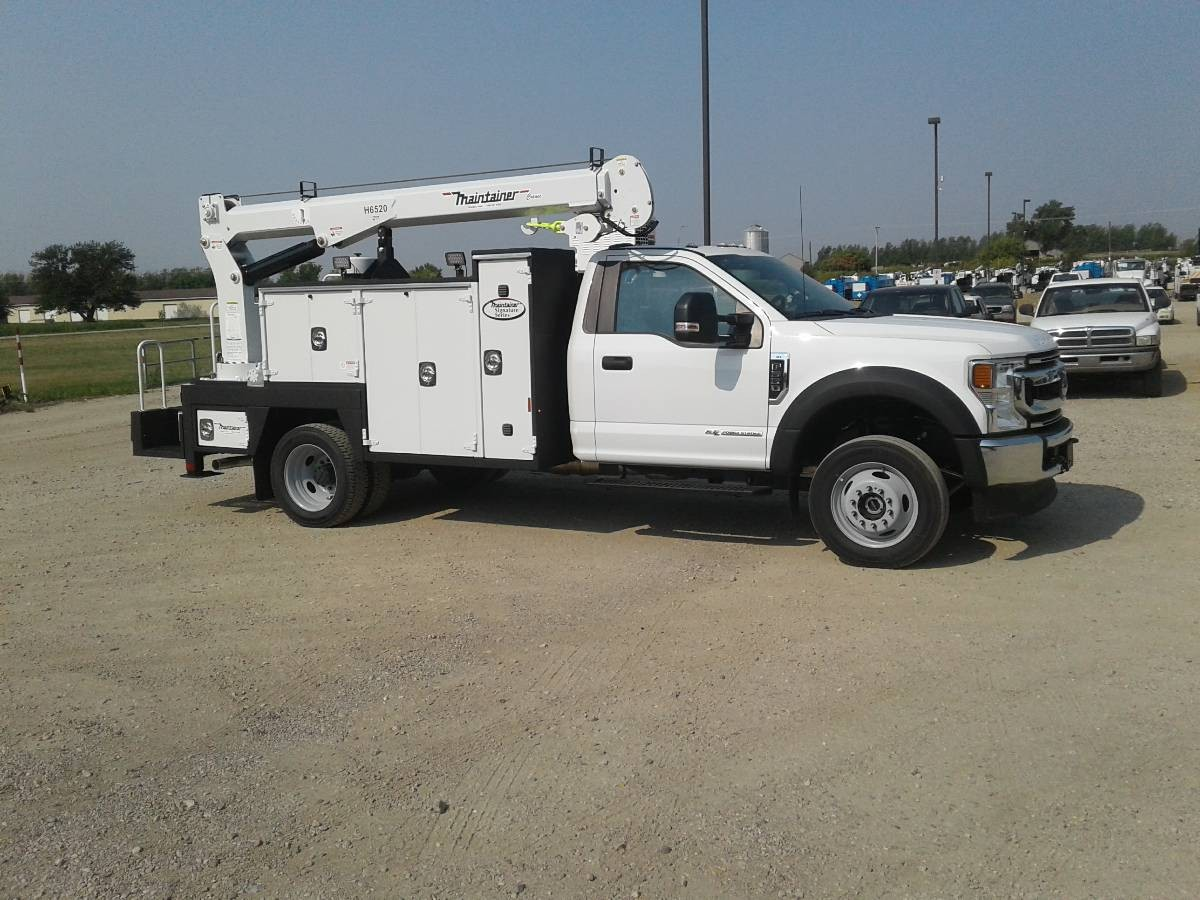 New, 2020, Maintainer, MTS-1-084, H6520TT Crane, Service / Utility Trucks
