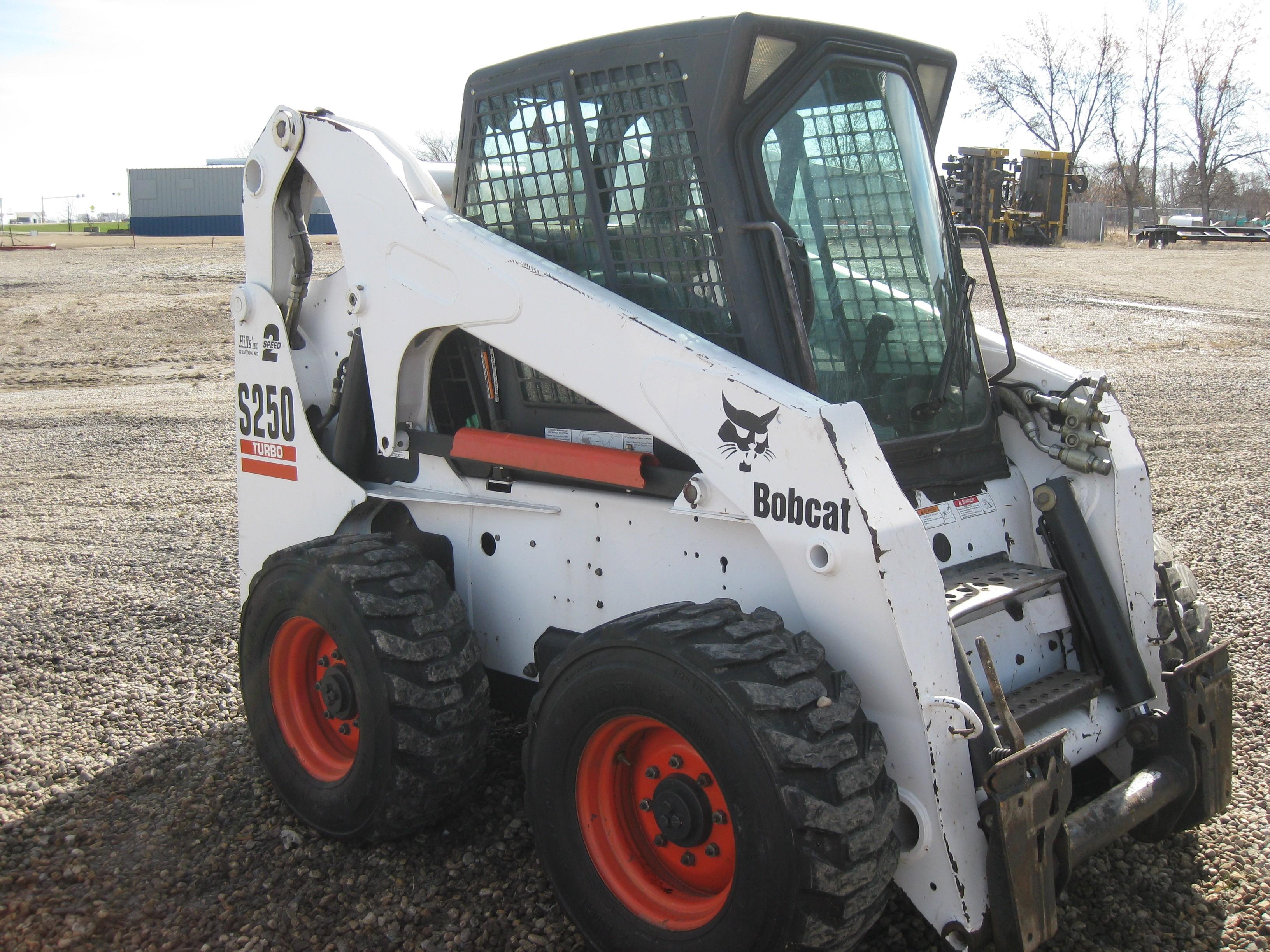 Used, 2004, Bobcat, S250, Skid Steers