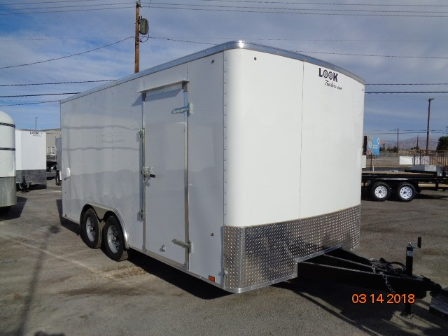 New, 2019, Look Trailers, 8.5 x 16 ST , Trailers
