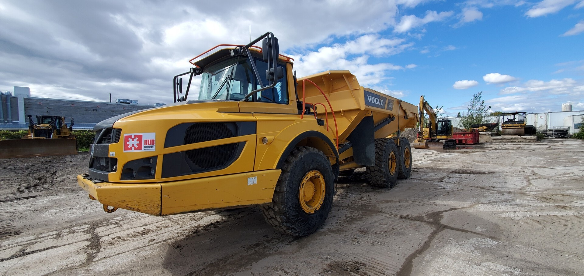 Used, 2015, Volvo, A30G, Off-Highway Trucks