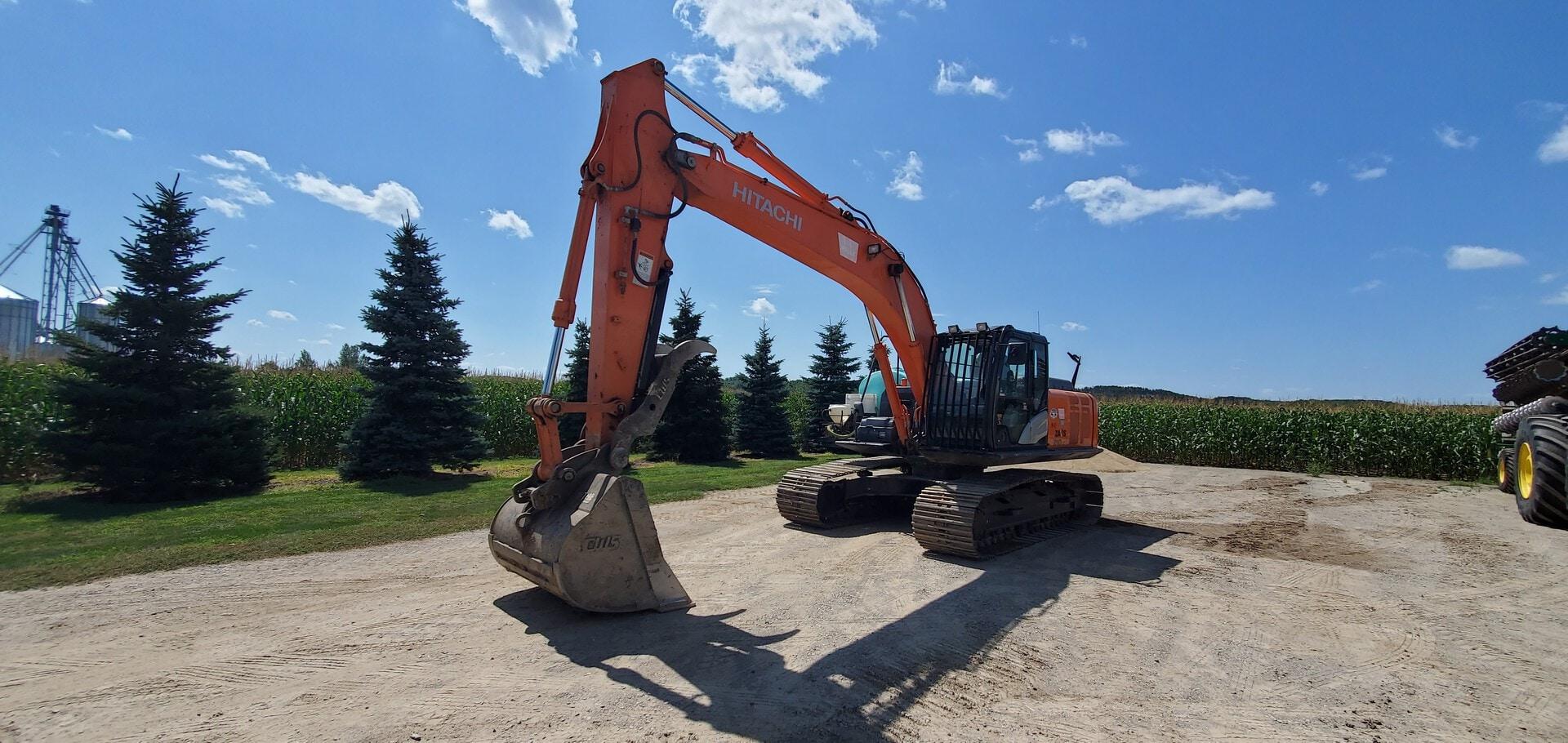 Used, 2016, Hitachi, ZX210LC-5N, Excavators