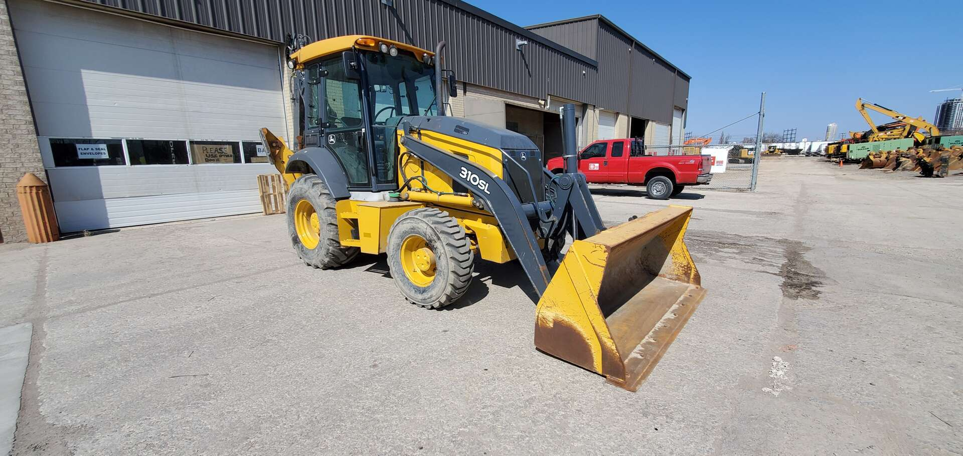 Used, 2017, John Deere, 310SL, Backhoe Loaders