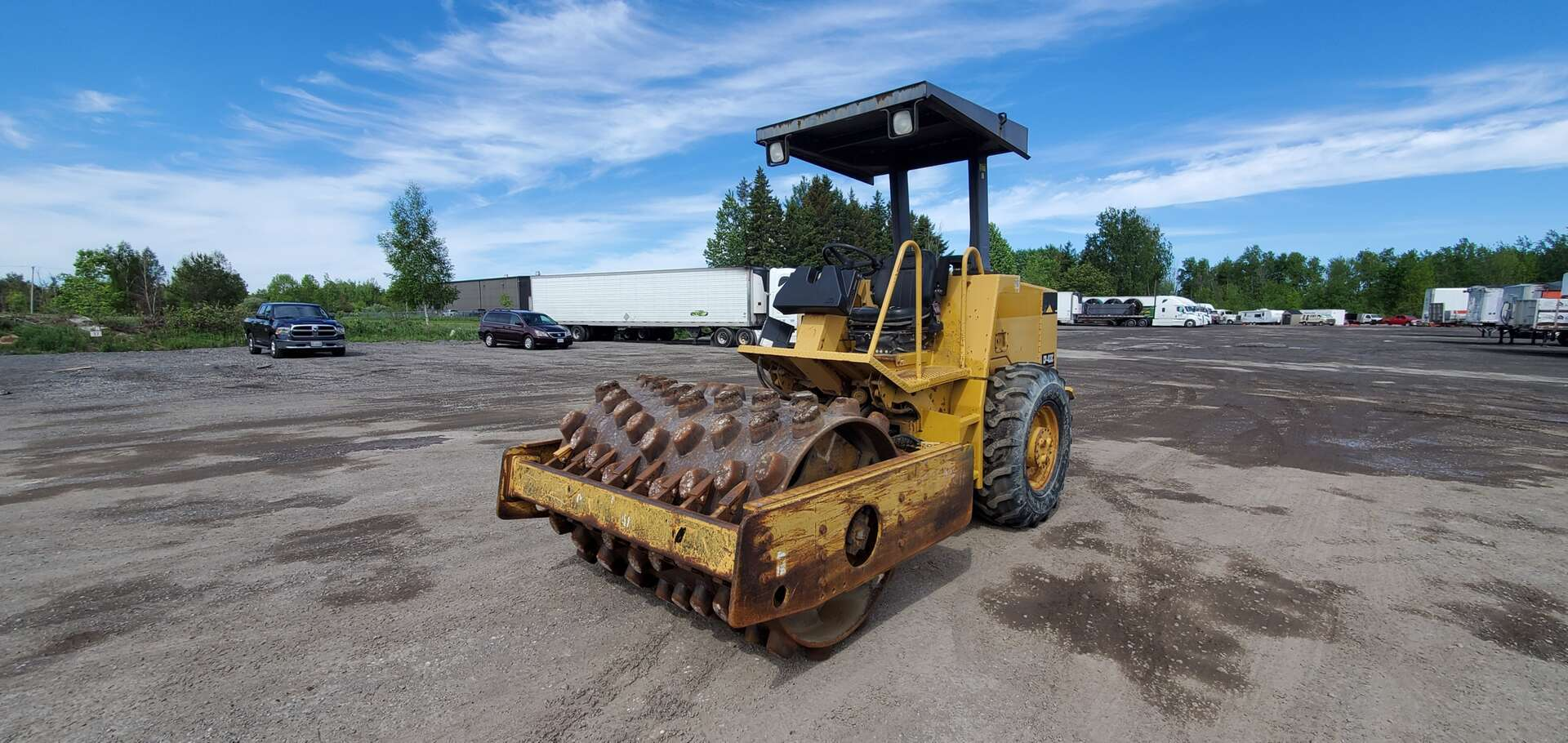 Used, 2000, CAT, CP433C, Compaction Roller