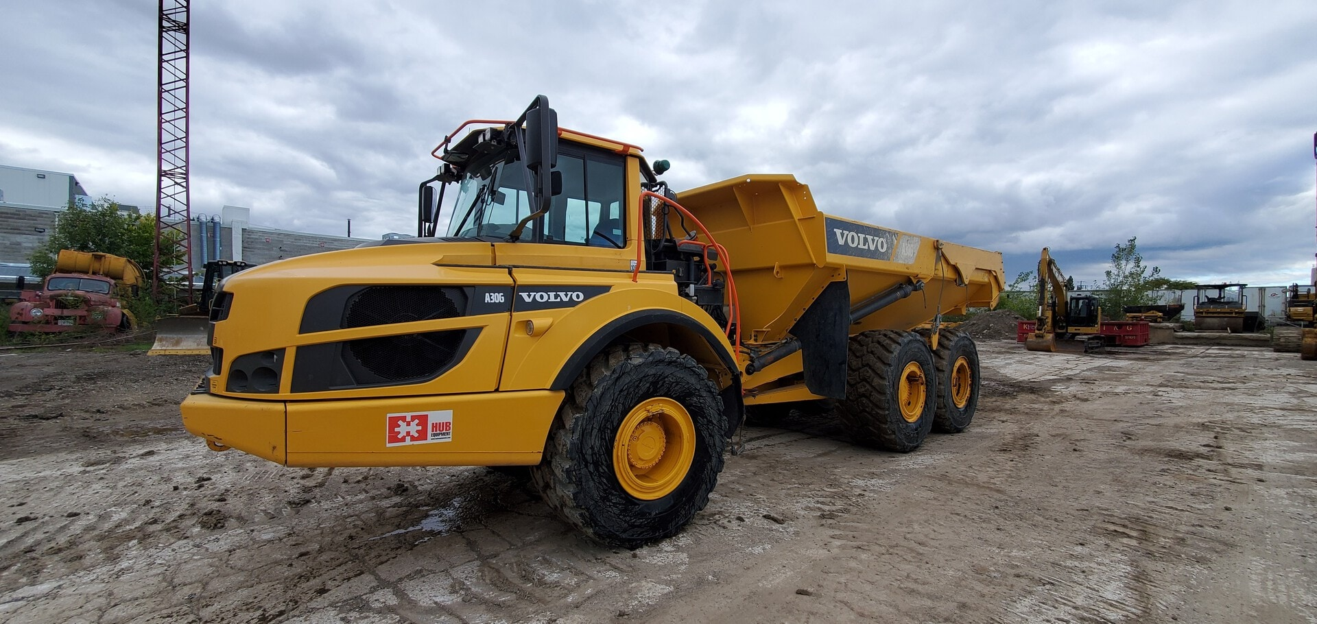 Used, 2016, Volvo, A30G, Off-Highway Trucks
