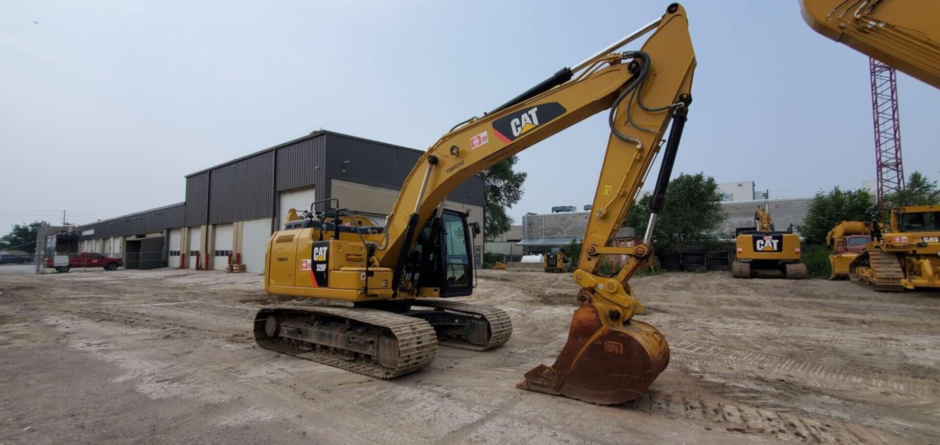 Used, 2017, CAT, 320FL, Excavators