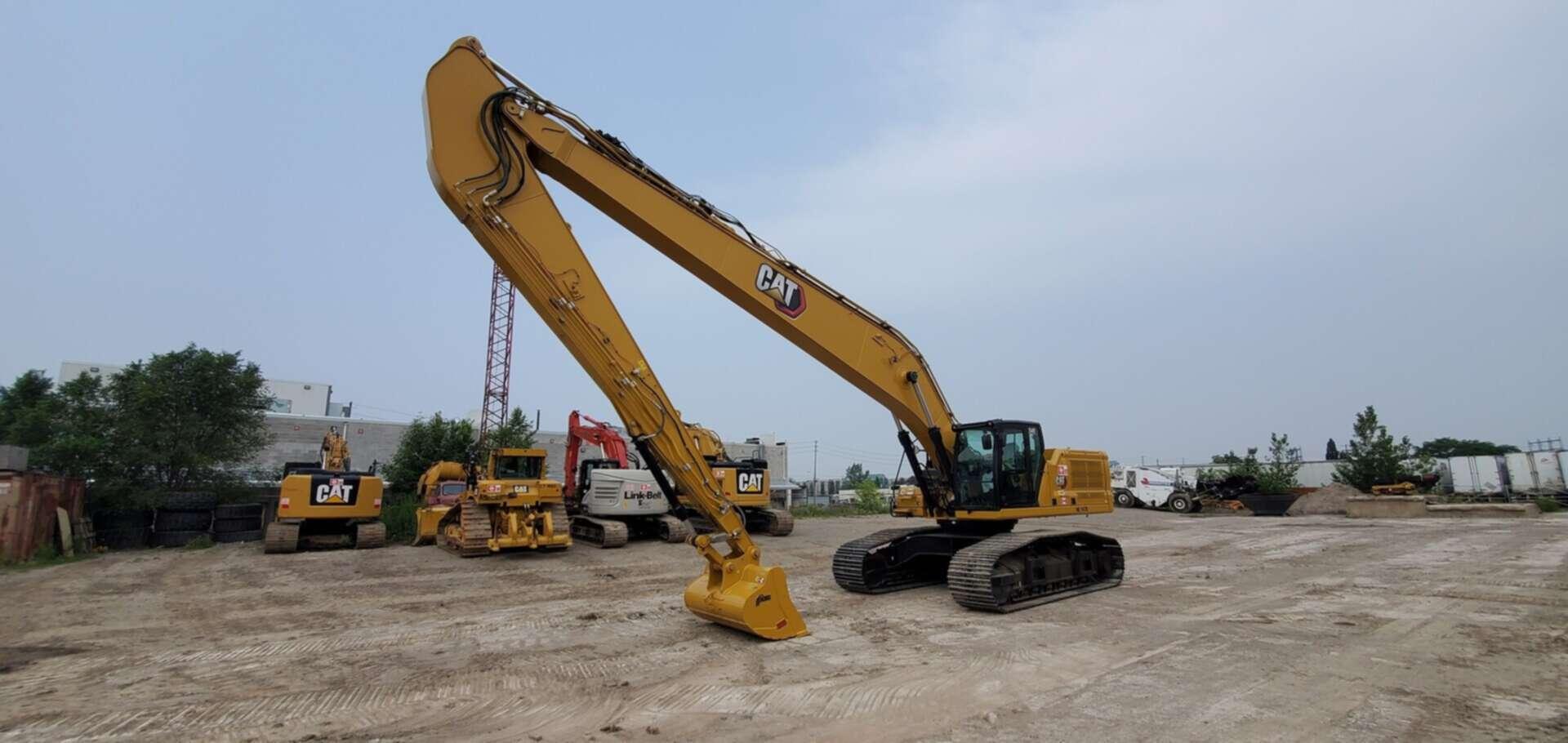 New, 2021, CAT, 340 SLR, Excavators