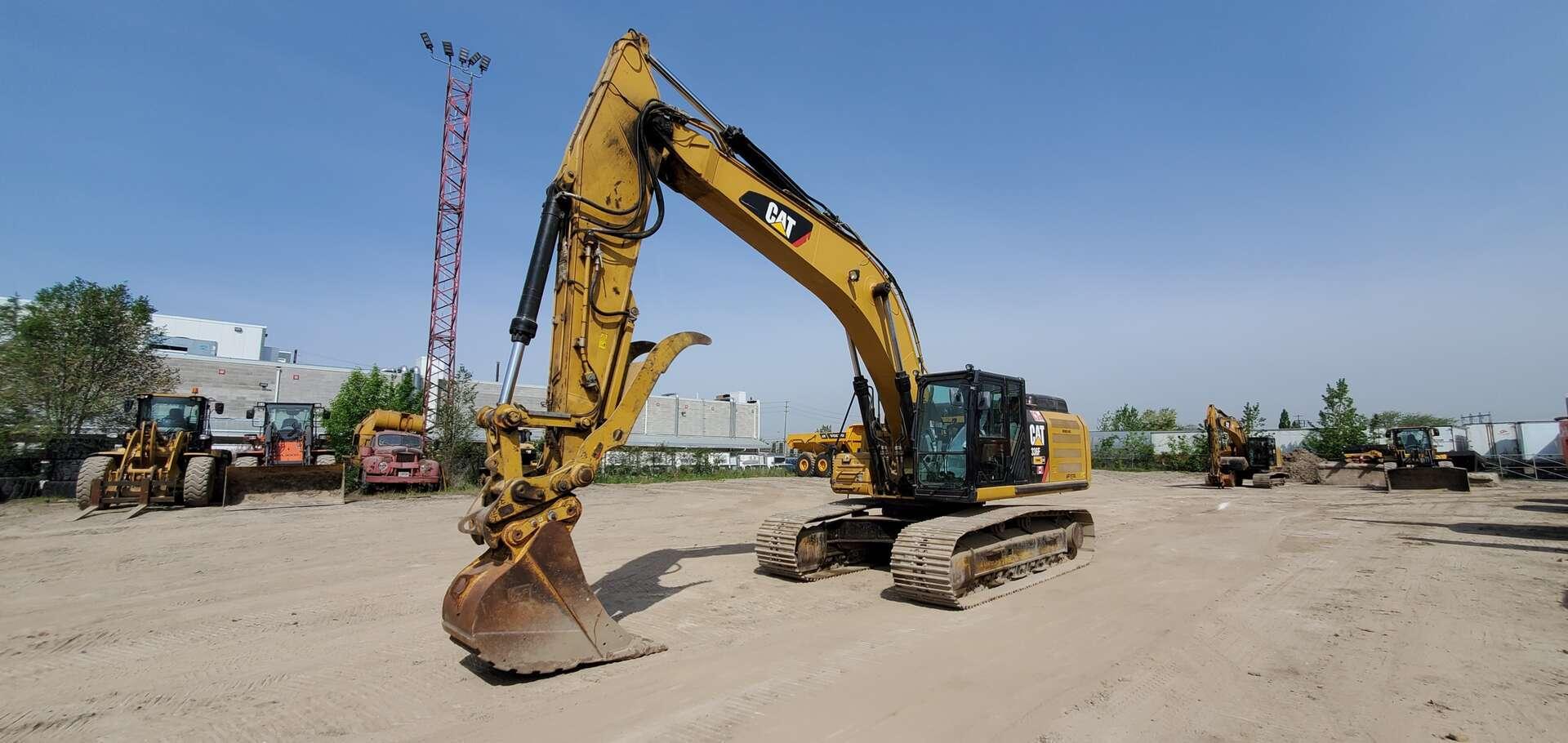 Used, 2015, CAT, 336FL, Excavators