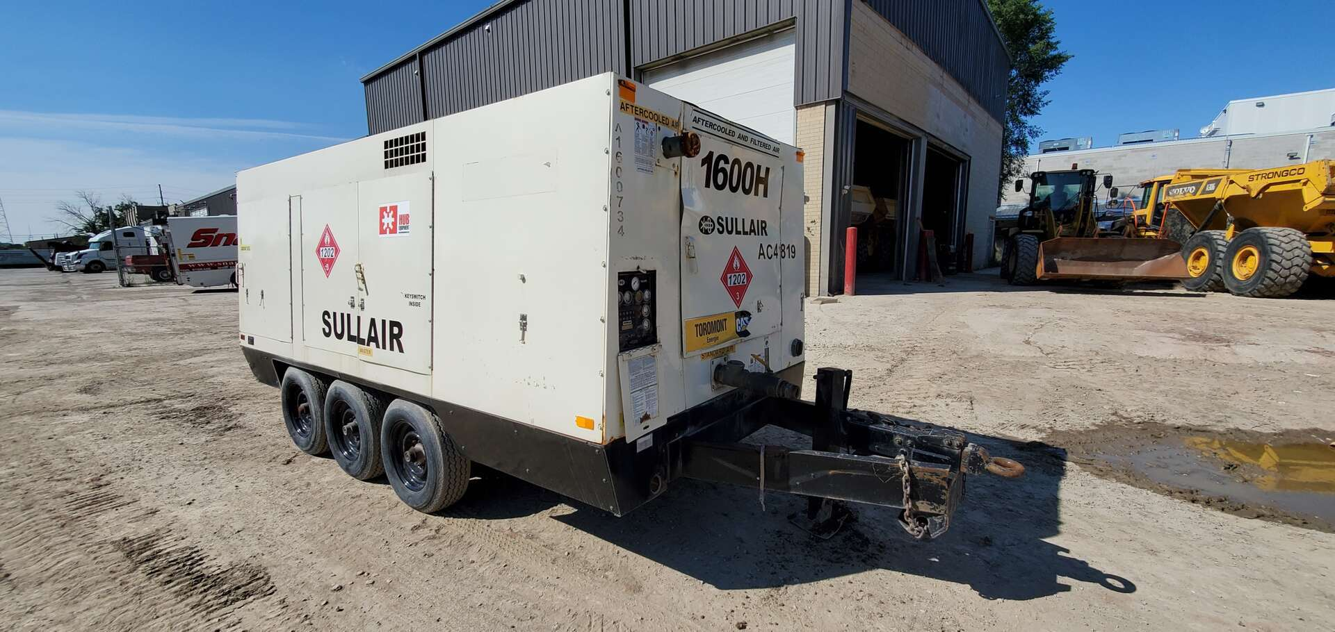 Used, 2009, Sullair, 1600H, Air Compressors