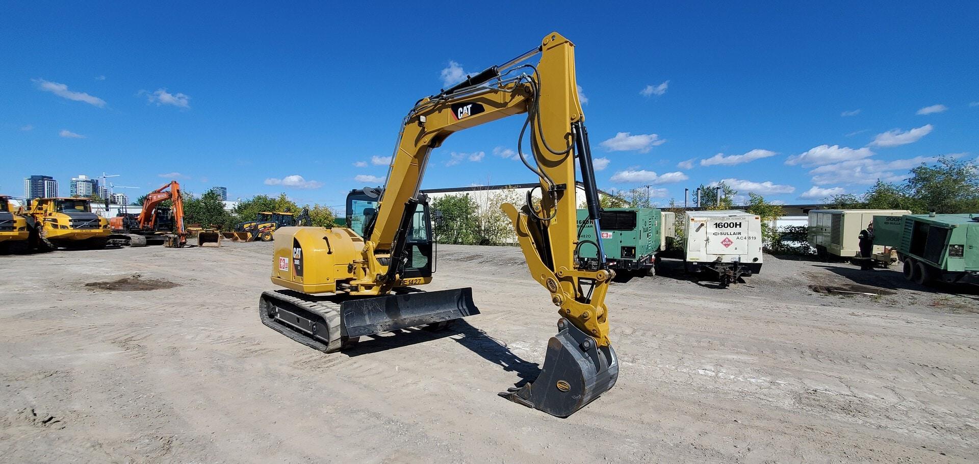 Used, 2018, CAT, 308E2CR, Excavators